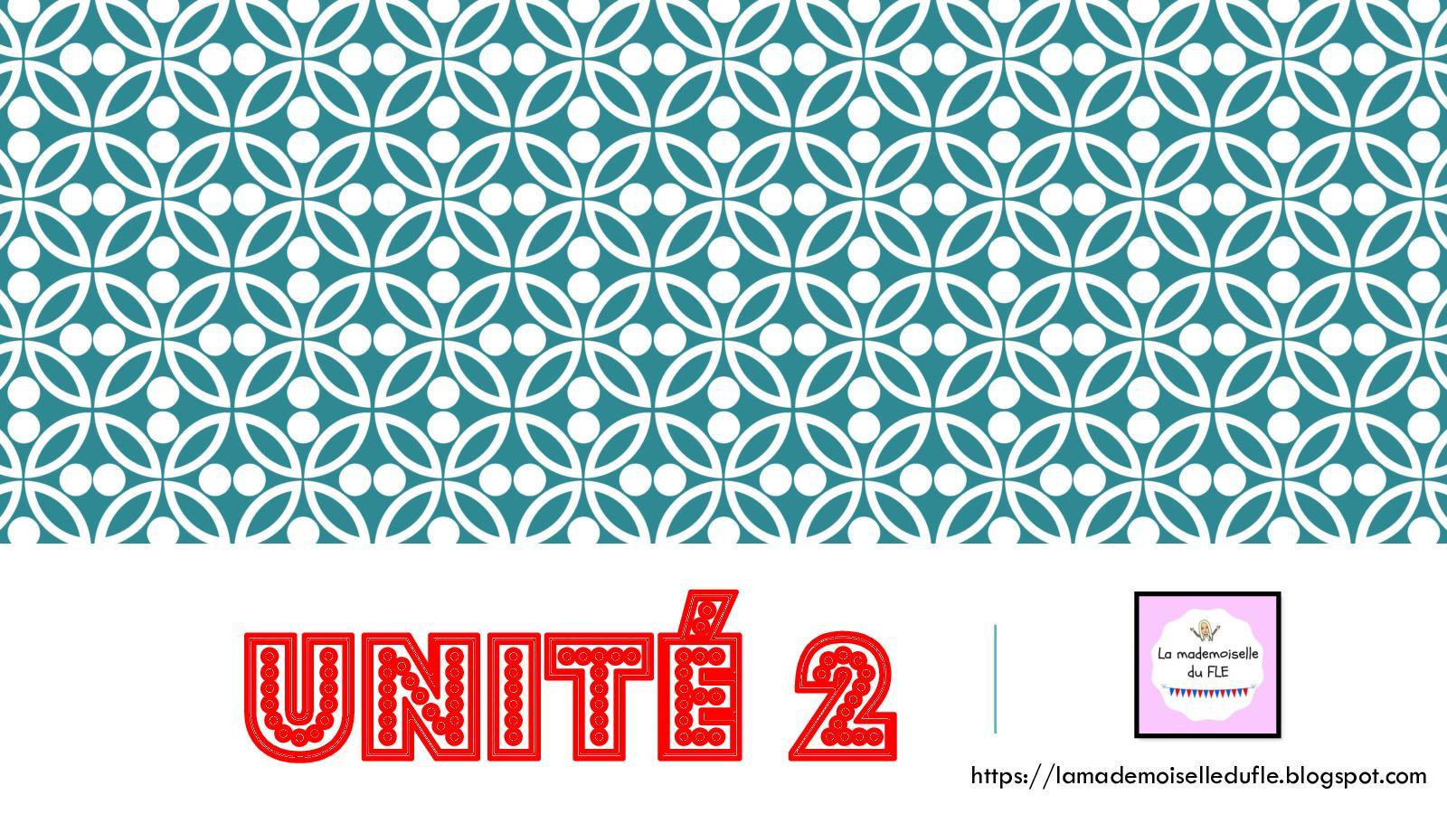 Unité 2 - Les Sensations