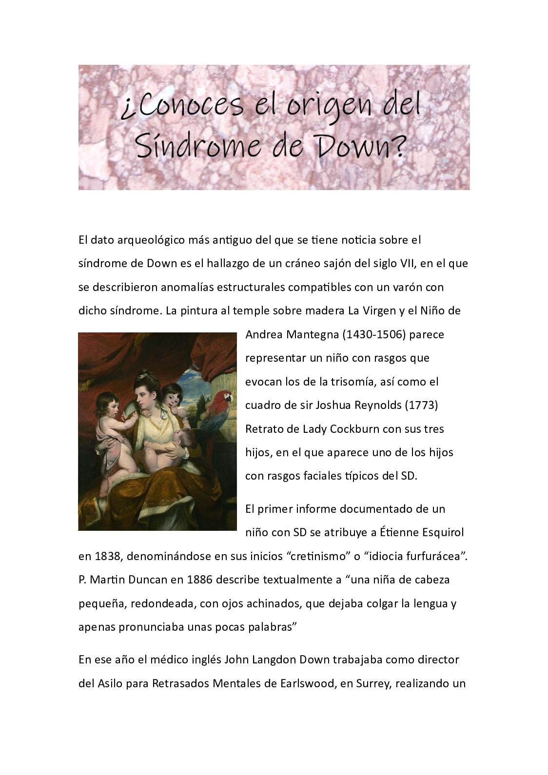 diabetes tipo 1, síndrome de down blog evie