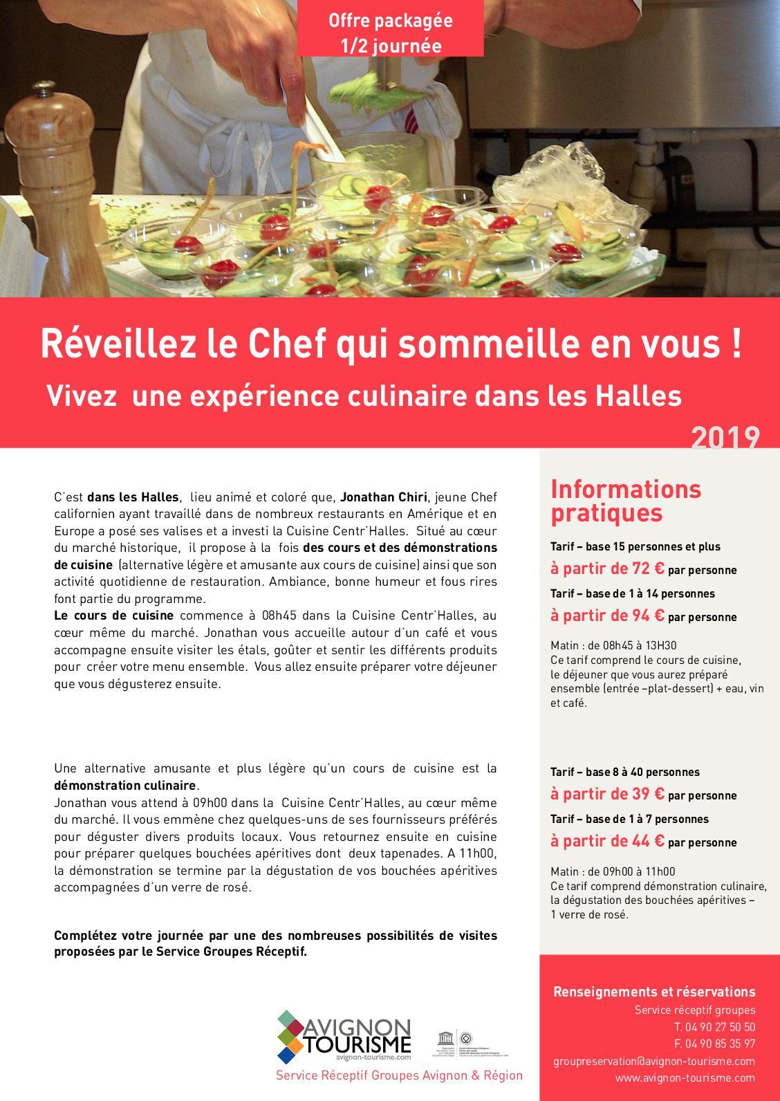 Calameo Fr Package Reveillez Le Chef Qui Sommeille En Vous