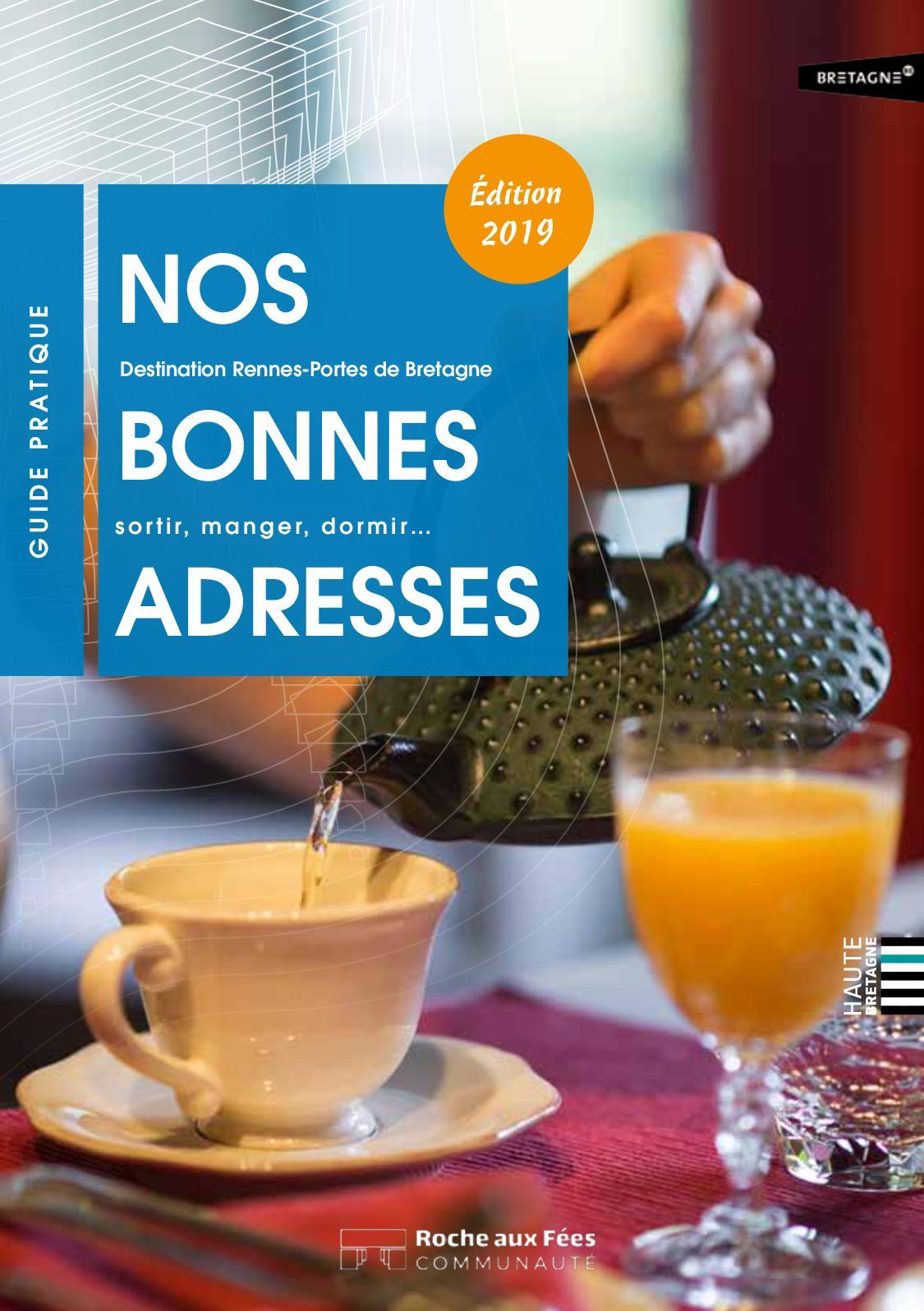 Guide Des Bonnes Adresses 2019