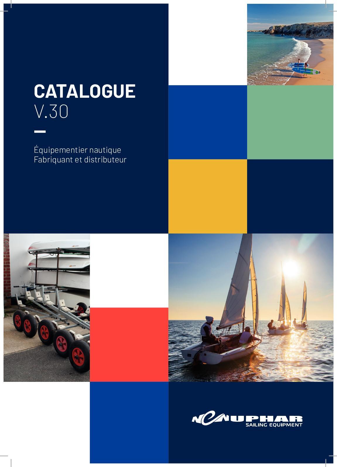 Nouveau Rouge Bleu Bateau à voile bateau Nautique en polycoton tissu prix réduit