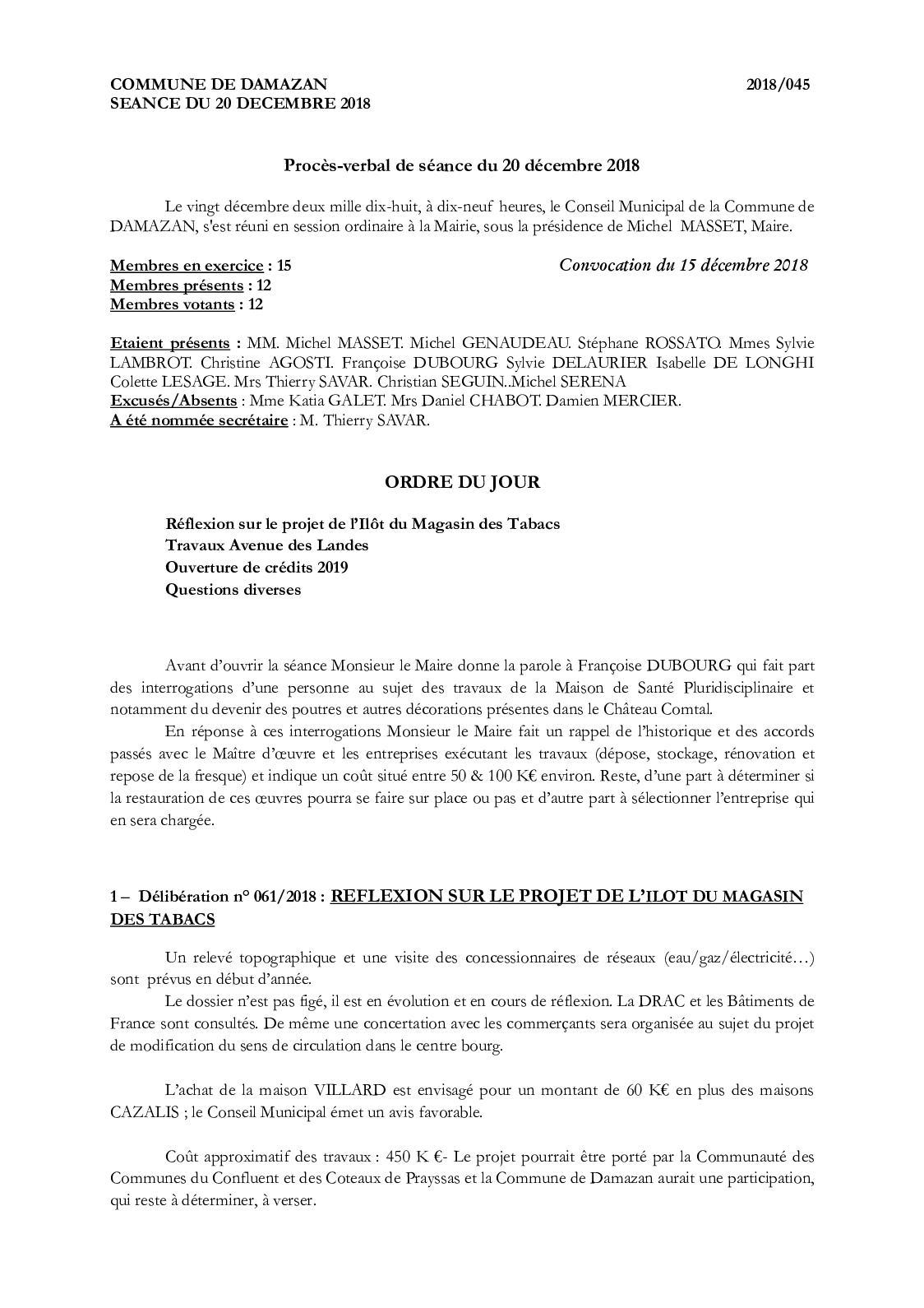 Maison Des Travaux Avis cr 20 12 2018 - calameo downloader