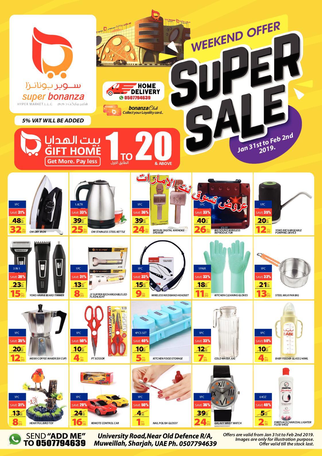 Calaméo - Tsawq Net Super Bonanza Hyper Sharjah Uae 31 1 2019