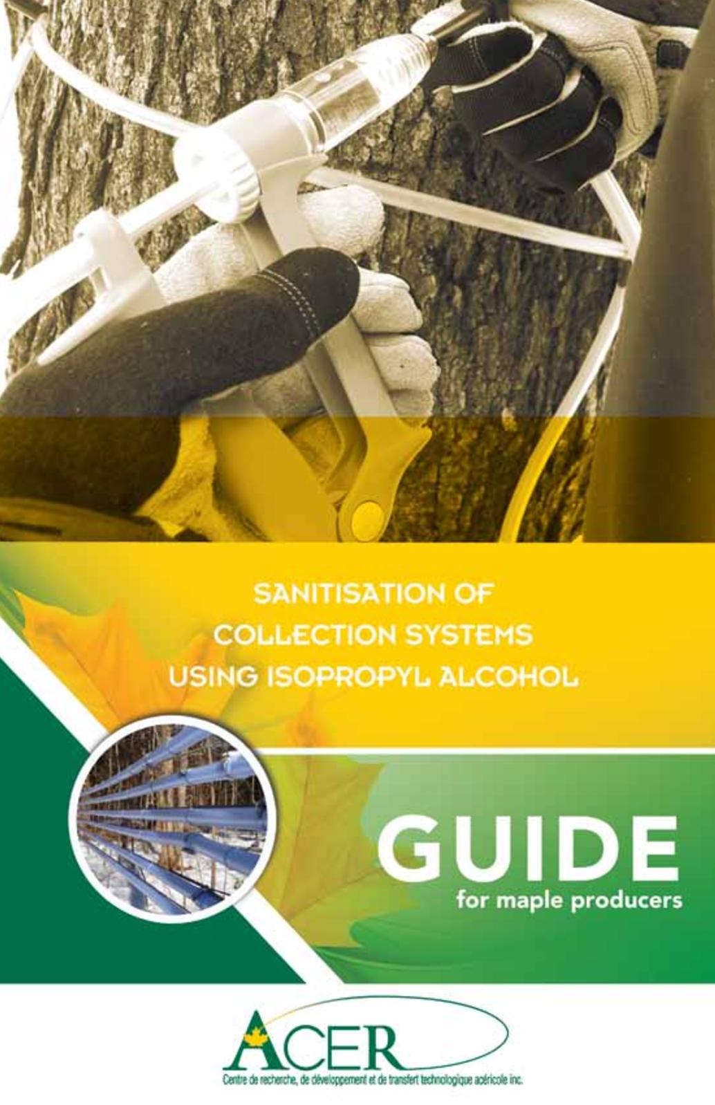 Calaméo - Sanitisation of collection systems using isopropl