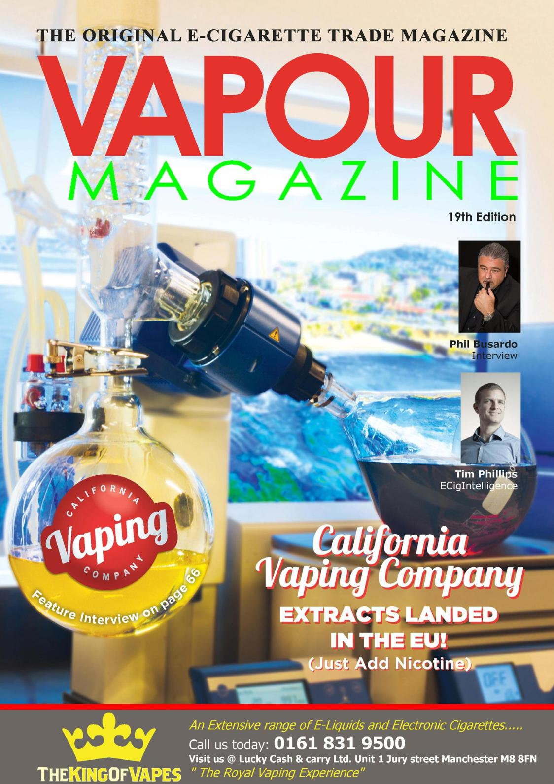 Calaméo - Vapour Magazine January 2019