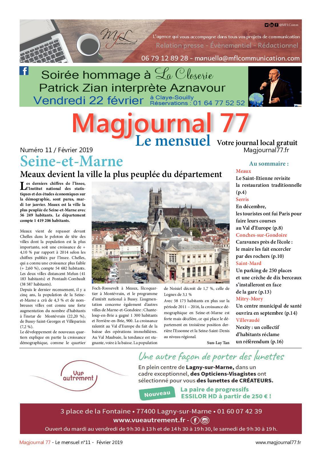 93e79b04600c Calaméo - Magjournal 77 - Le Mensuel N° 11 - Février 2019