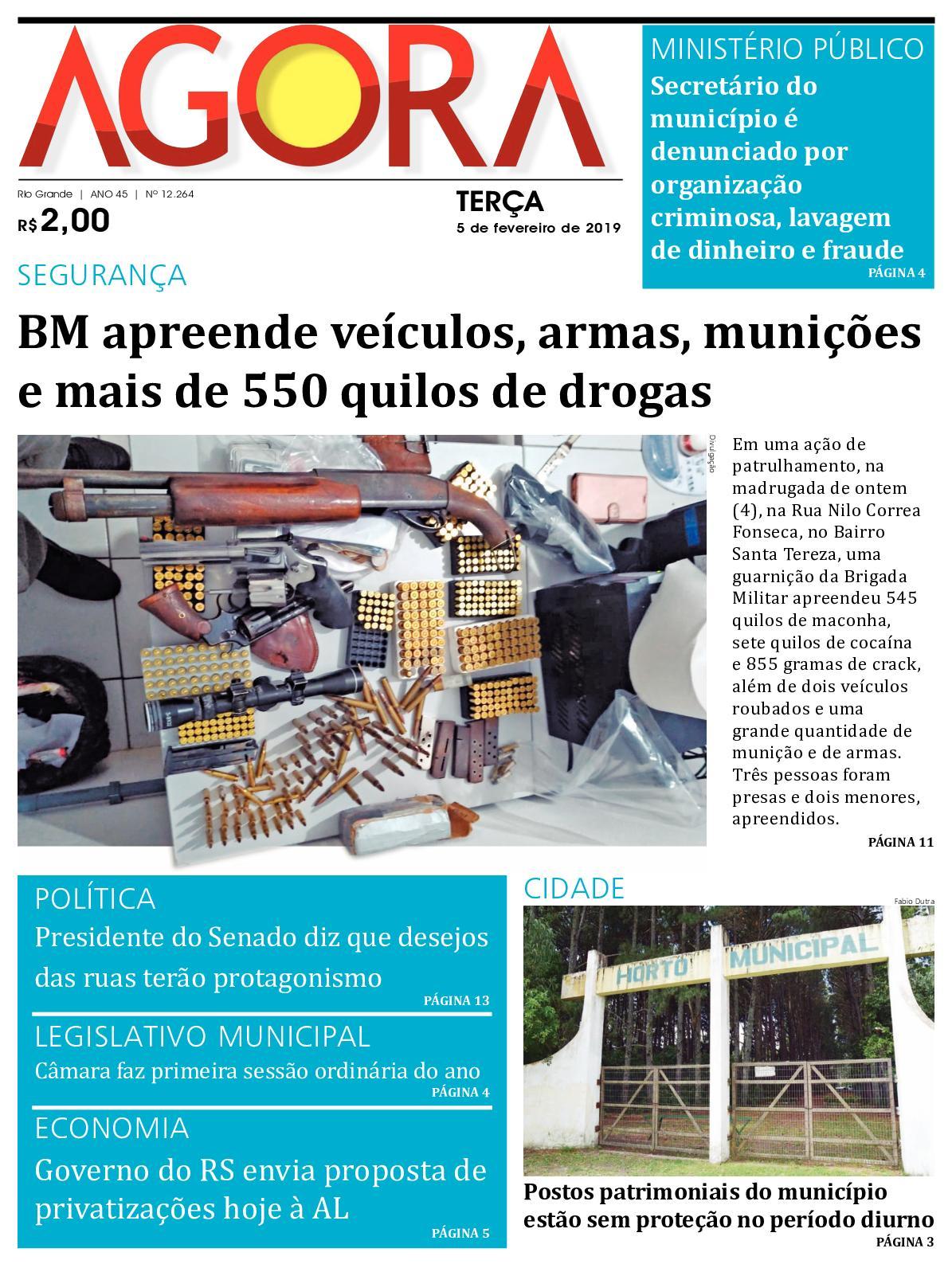 Calaméo - Jornal Agora - Edição 12264 - 5 de Fevereiro de 2019 972bca06d0