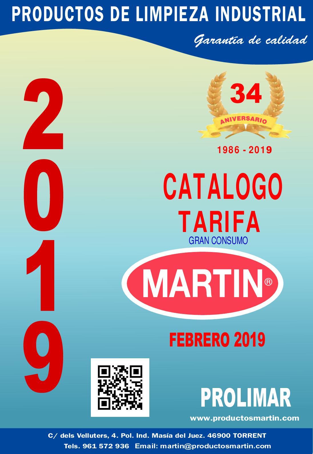 e4d3558673bf Calaméo - Catalogo Tarifa Febrero 2019
