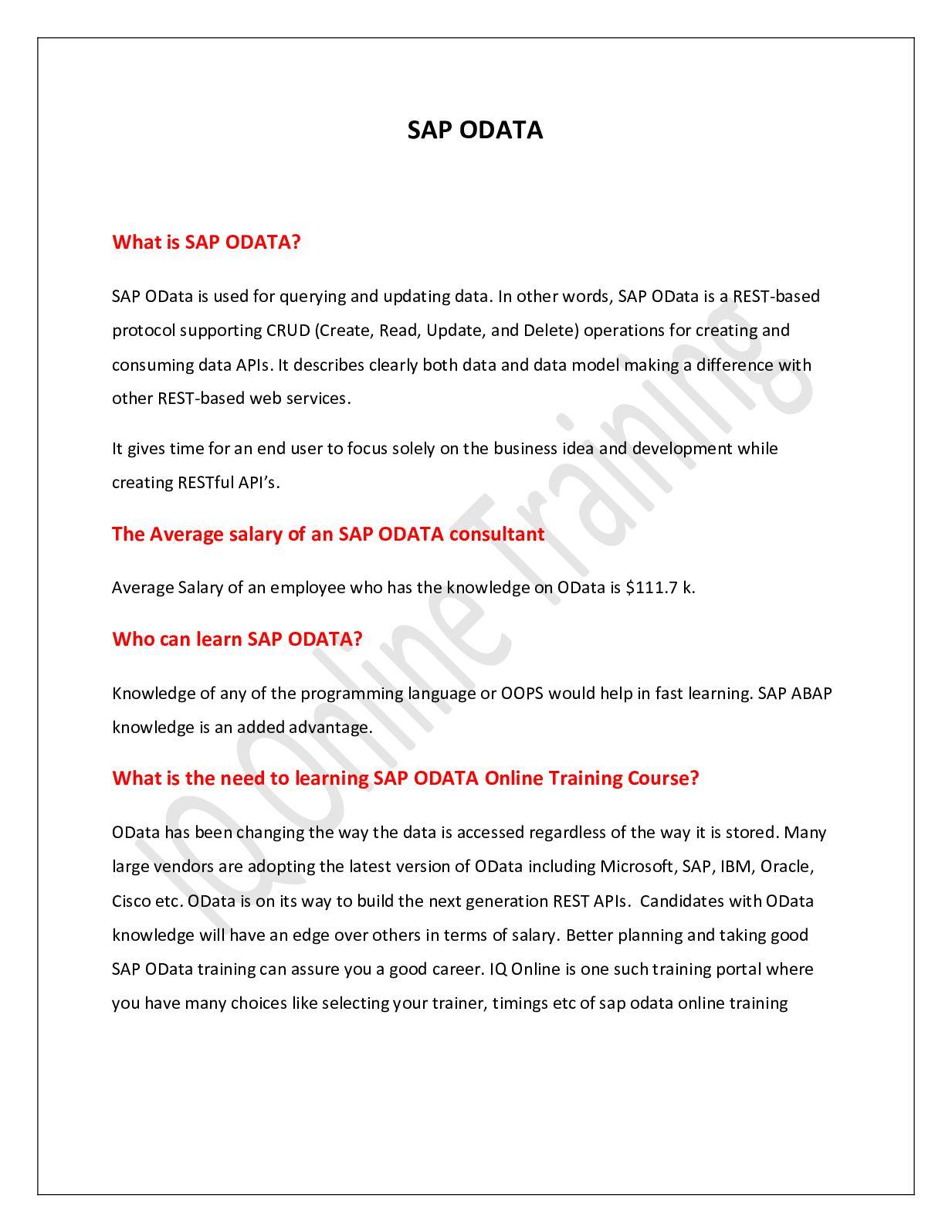 sap learning guide