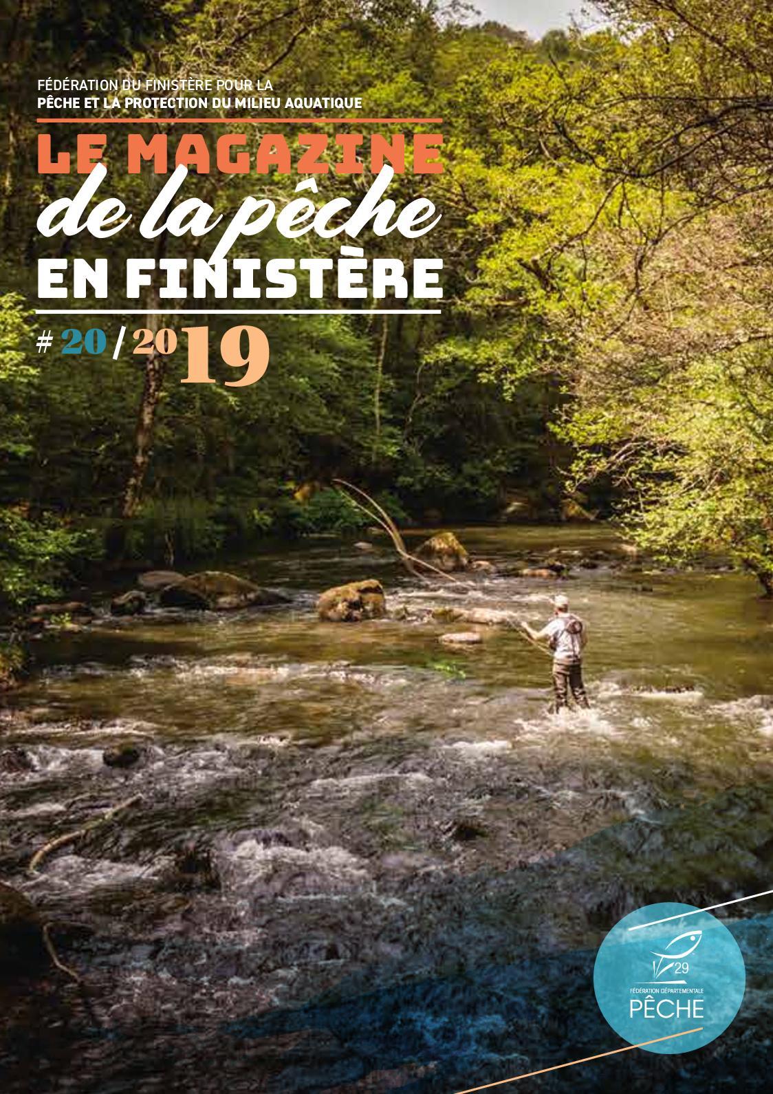 Revue Pêche en Finistère 2019 (20 ème édition)