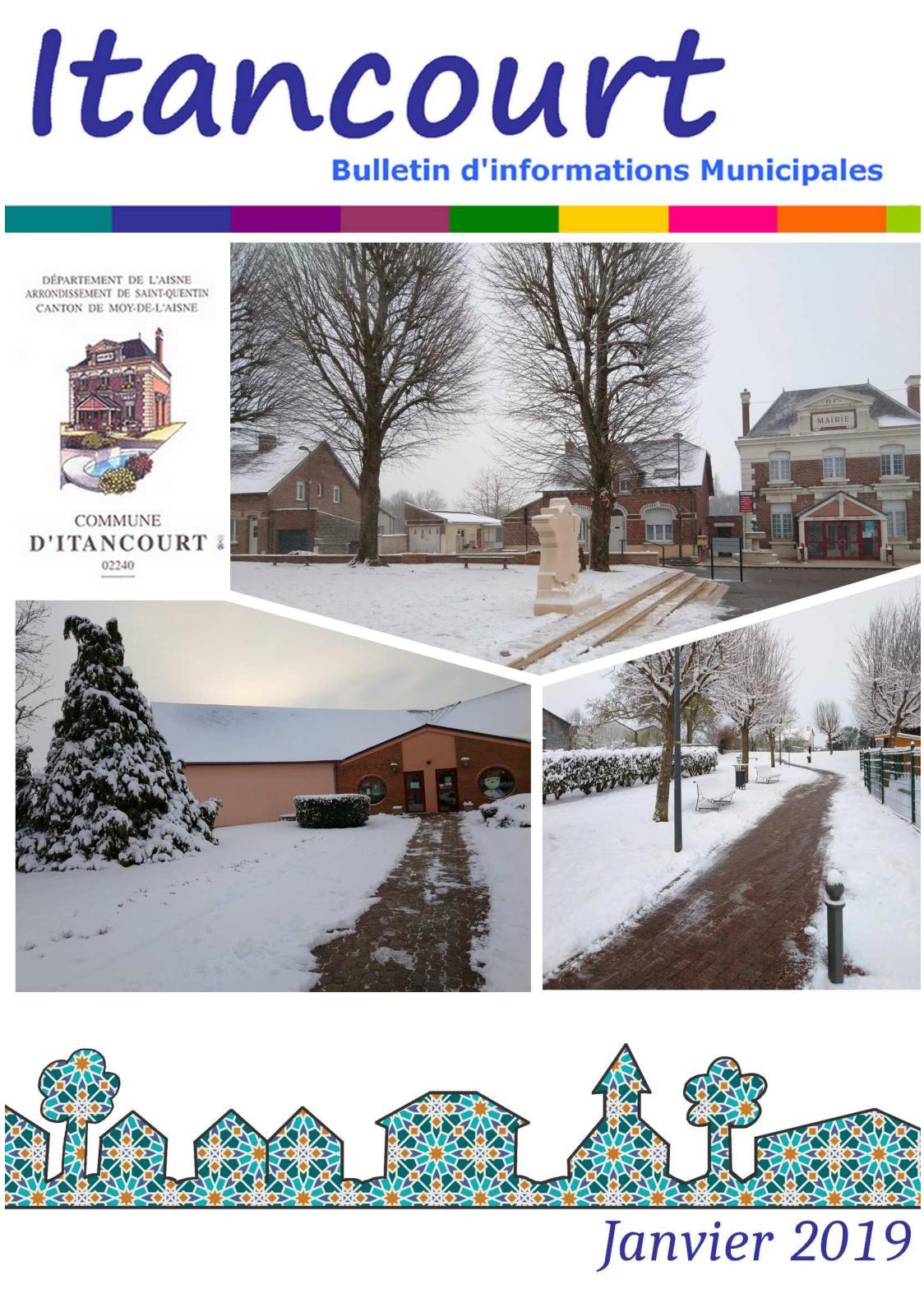 Brocante Moy De L Aisne calaméo - itancourt bulletin janvier 2019