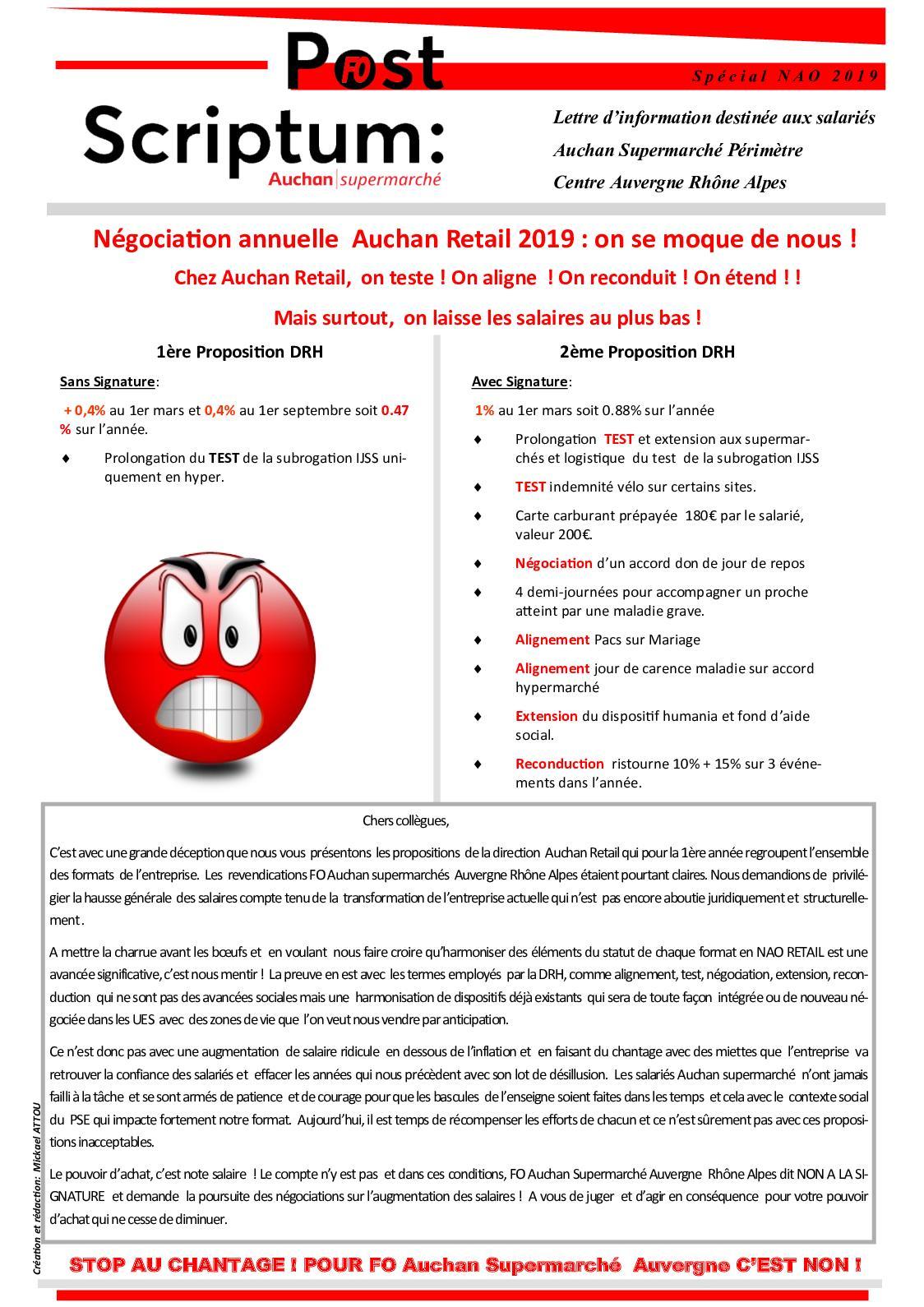 Carte Auchan Retail.Calameo Post Scriptum Nao 2019 Auchan Retail France