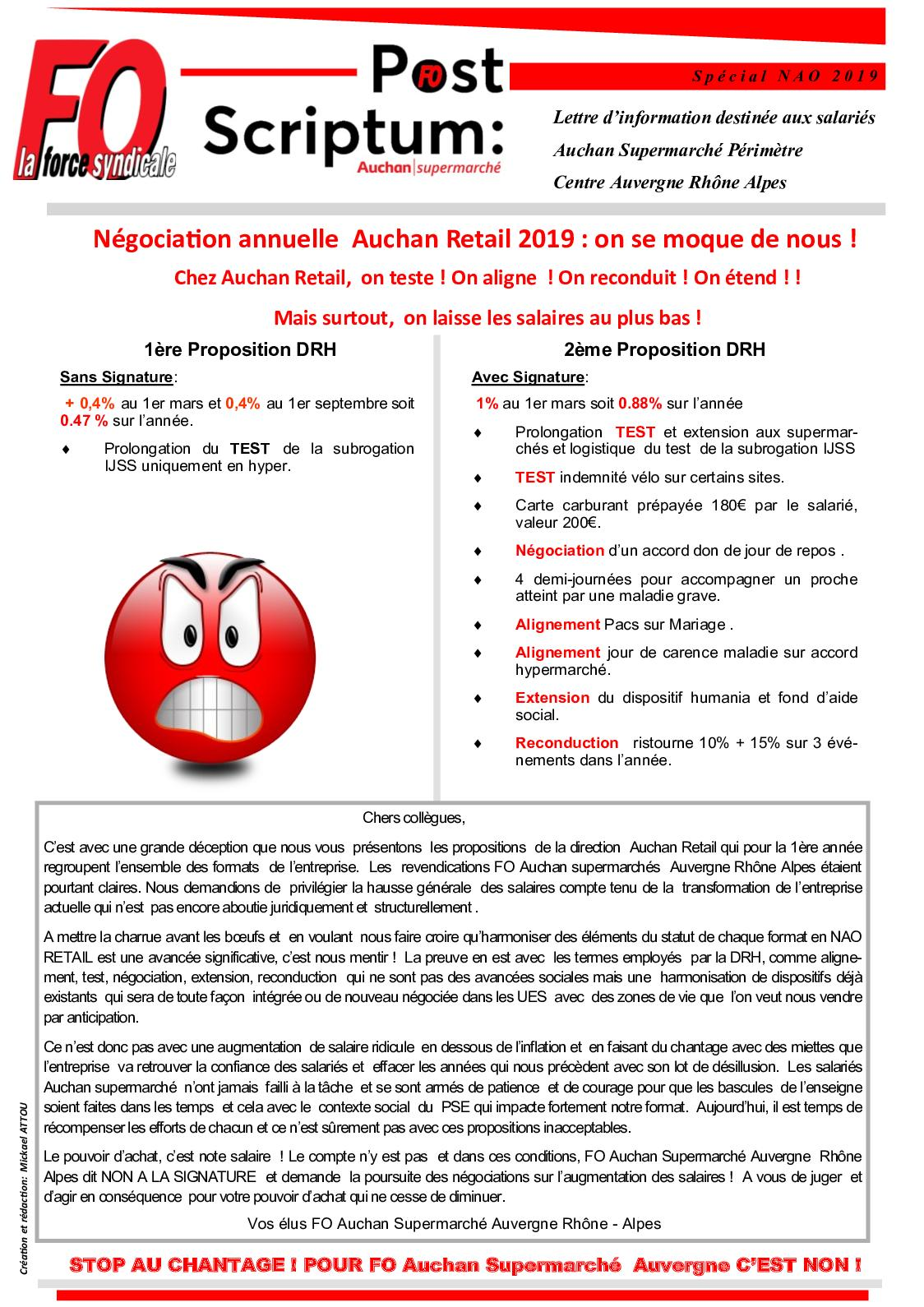 Carte Auchan Ristourne.Calameo Post Scriptum Nao 2019 Auchan Retail France