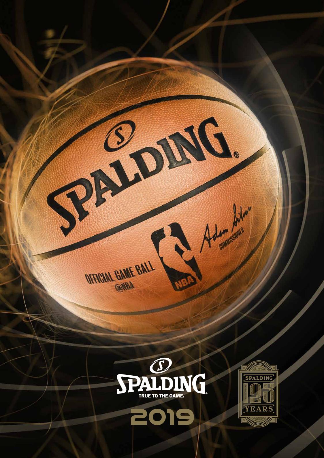 Ballon de Basketball Spalding Euroleague FC Barcelone Basket