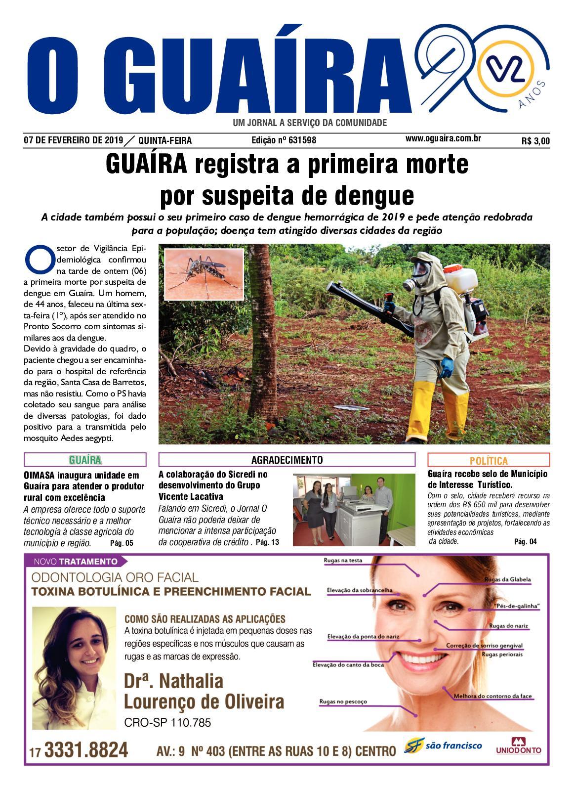 769f68c20ebd5 Calaméo - Jornal O Guaíra 07 02 2019