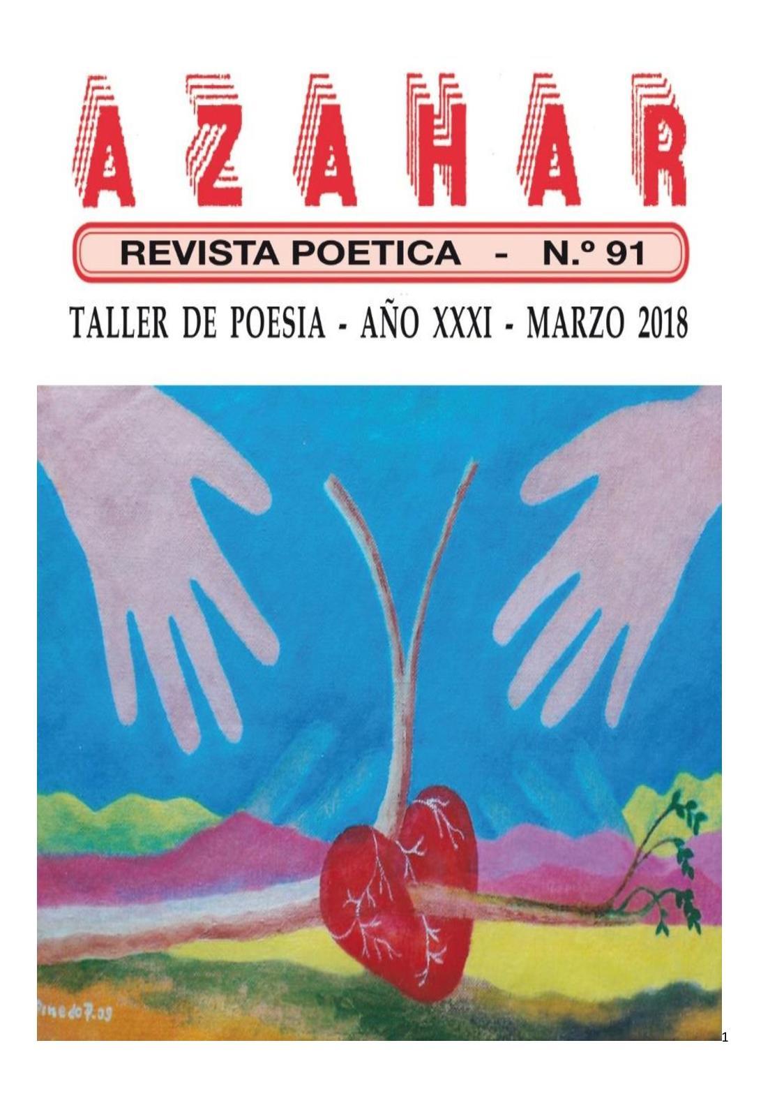 Calaméo Revista Poética Azahar Noventa Y Uno