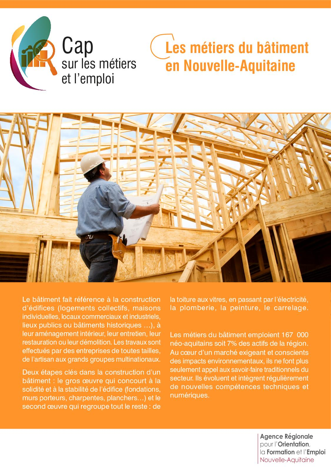 Etude De Marche Artisan Electricien calaméo - les métiers du bâtiment en nouvelle aquitaine