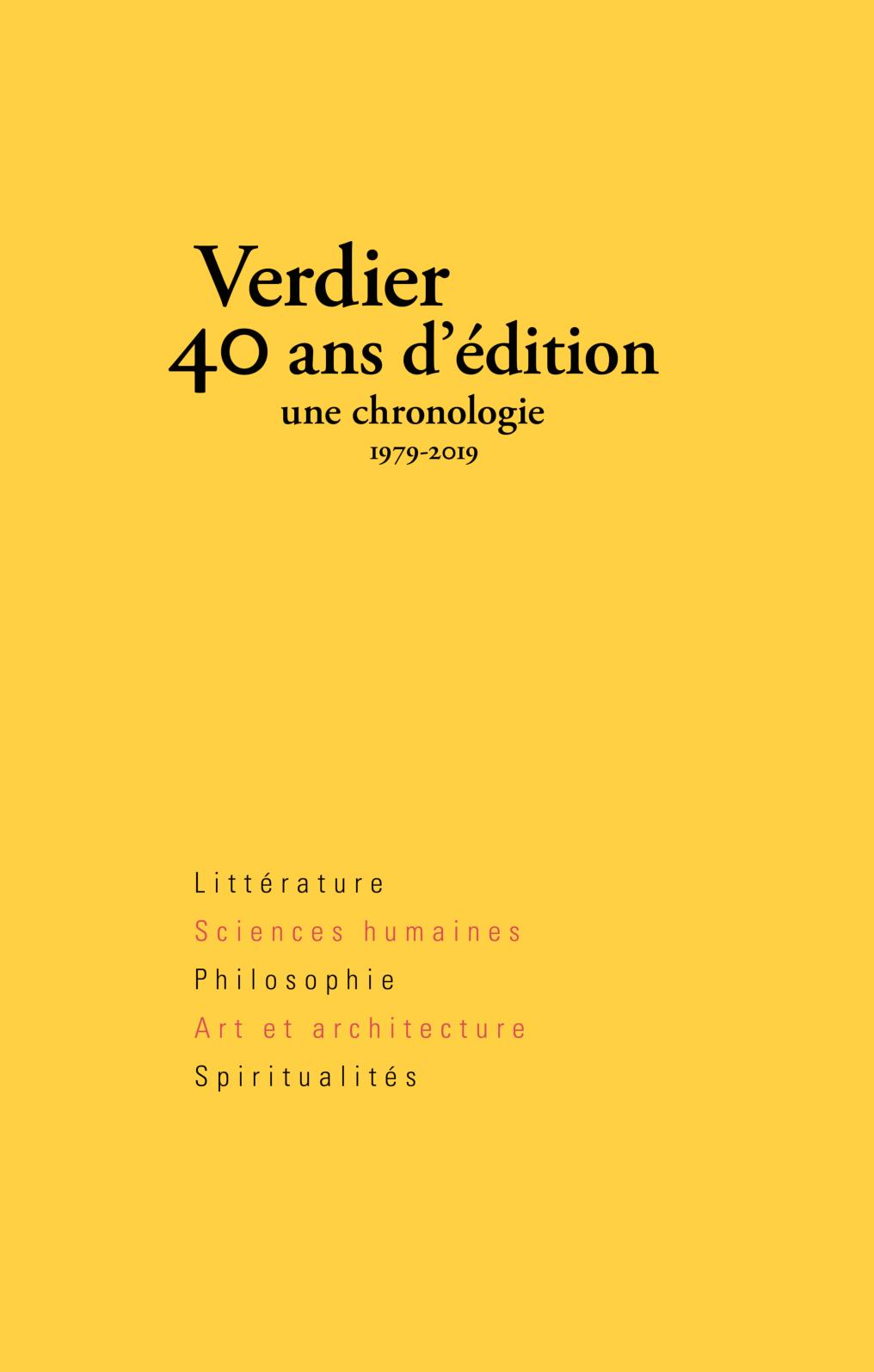 Ans Verdier40 Ans Calaméo Verdier40 D'édition Calaméo l1c3TFJK