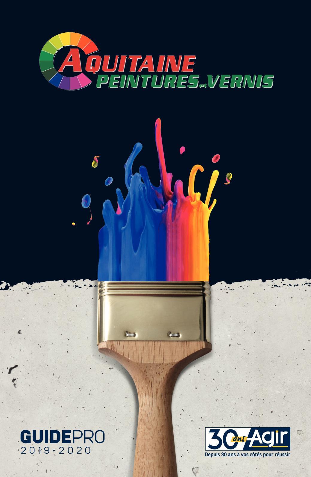 Calaméo Aquitaine Peinture Vernis Guide Pro 2019 2020
