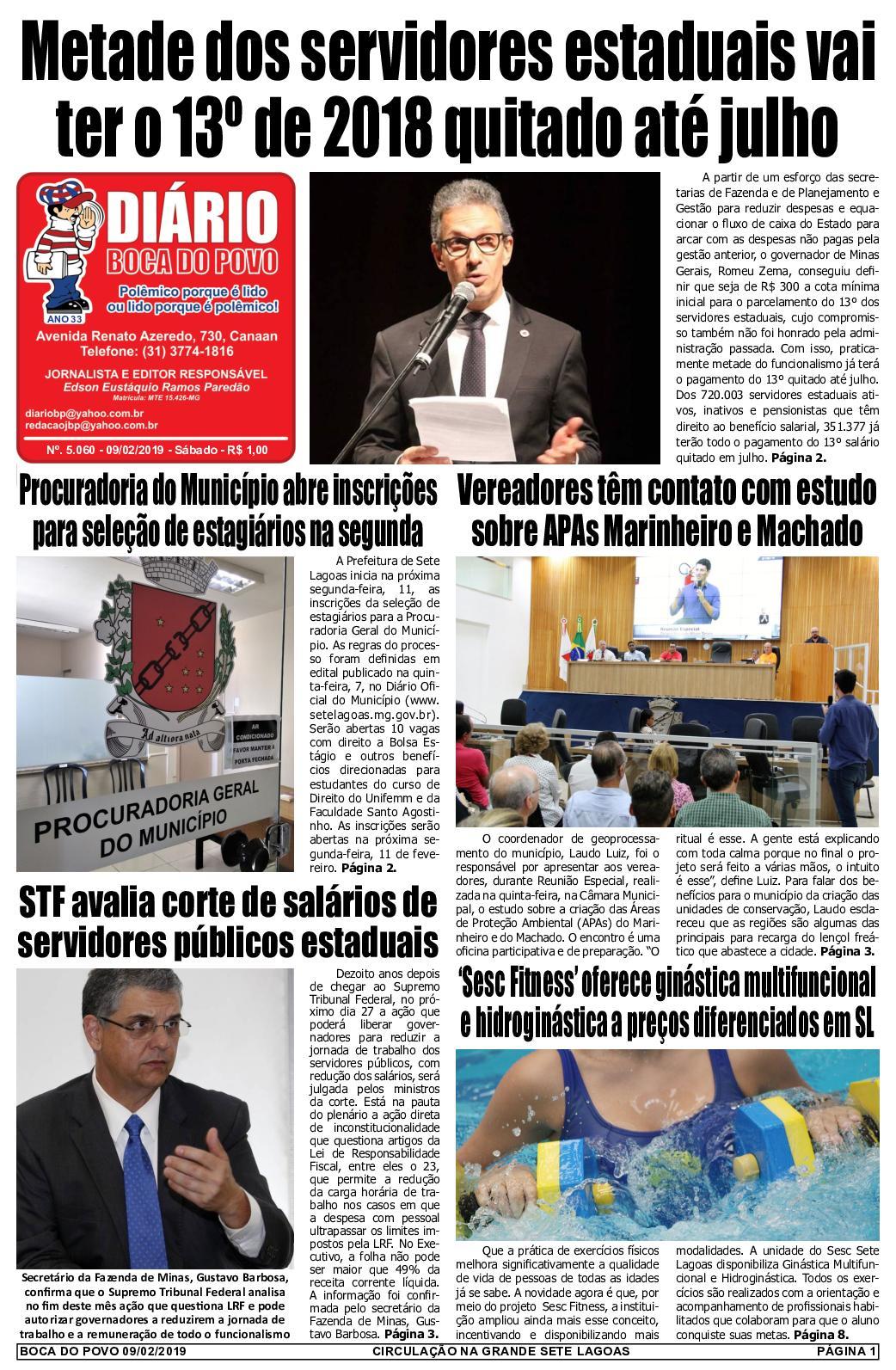 Calaméo - Jornal Diário Boca do Povo de sábado dia 9 de