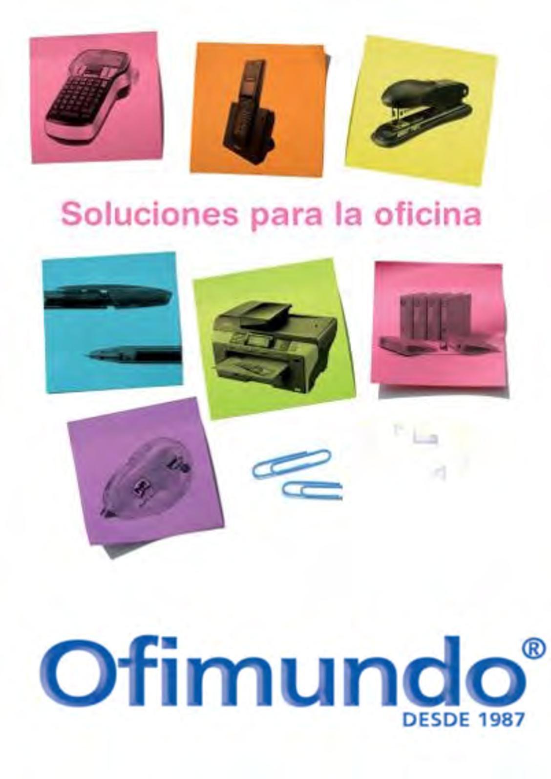 9b1f7f8b0392 Calaméo - Ofimundo Catálogo General