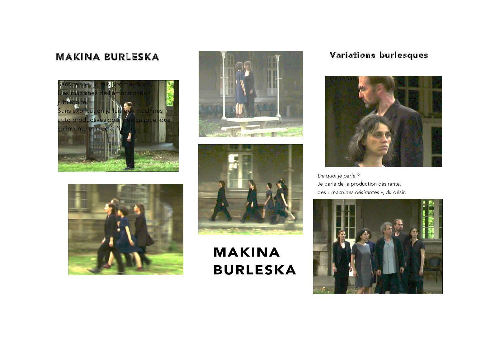 """Résultat de recherche d'images pour """"MAKINA BURLESKA Machine joyeuse"""""""