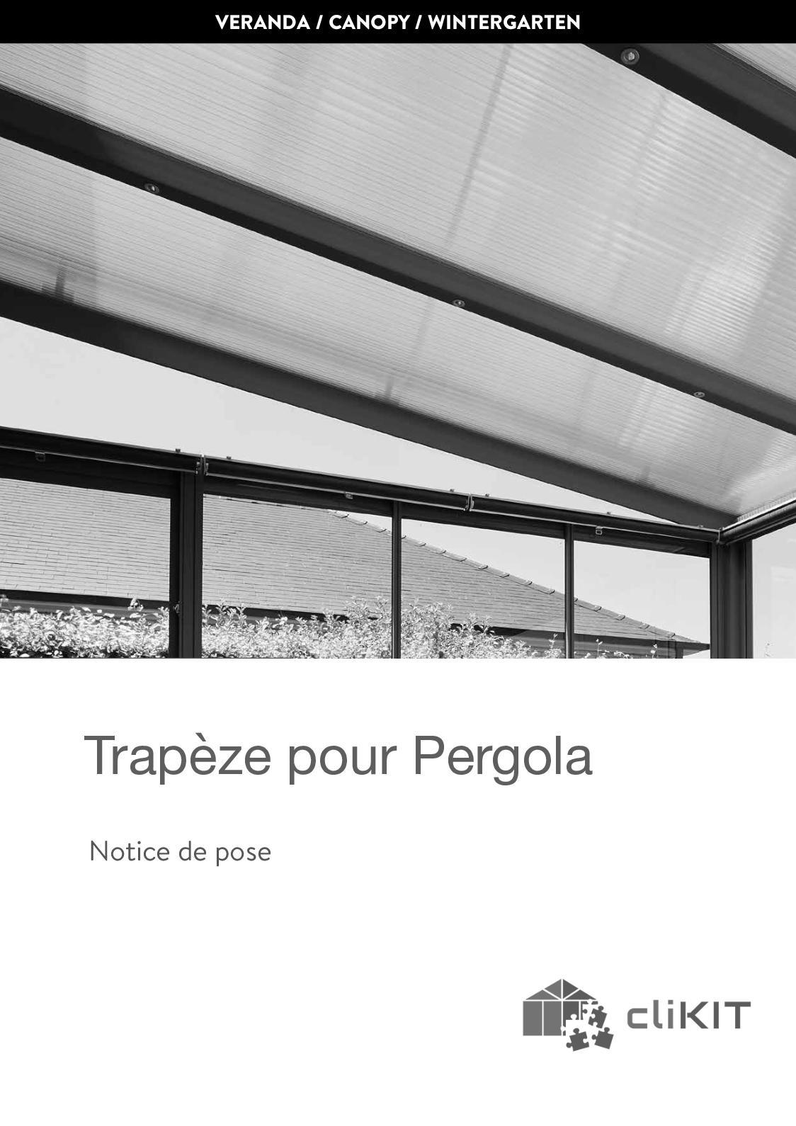 Calameo Clikit Notice De Pose Paroi Trapeze