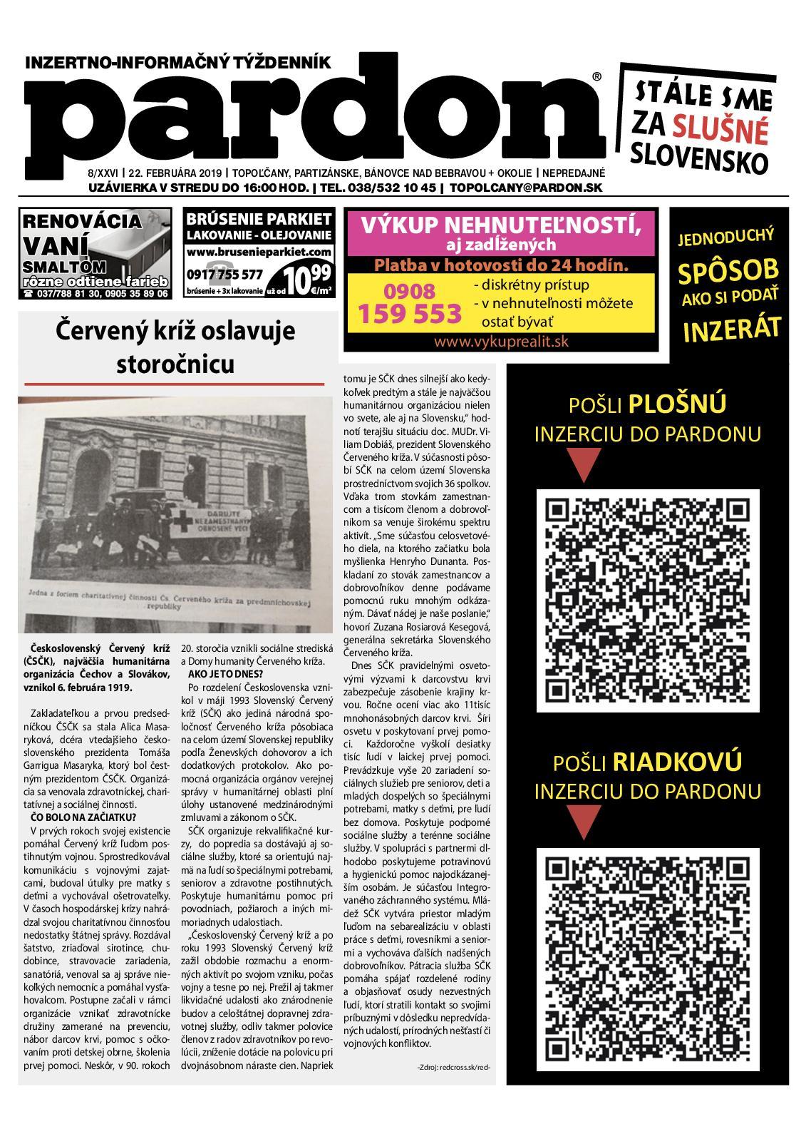 20c4bfd96a66 Calaméo - Pardon Topoľčany 8 2019