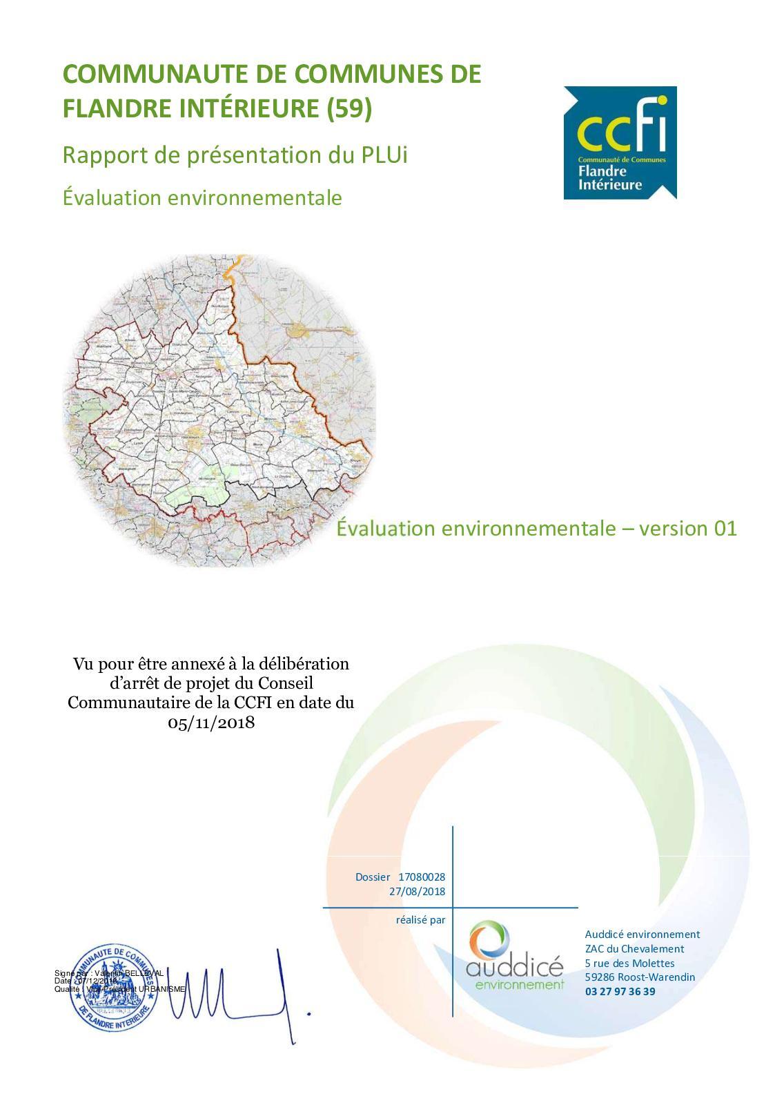 Calaméo Evaluation Environnementale