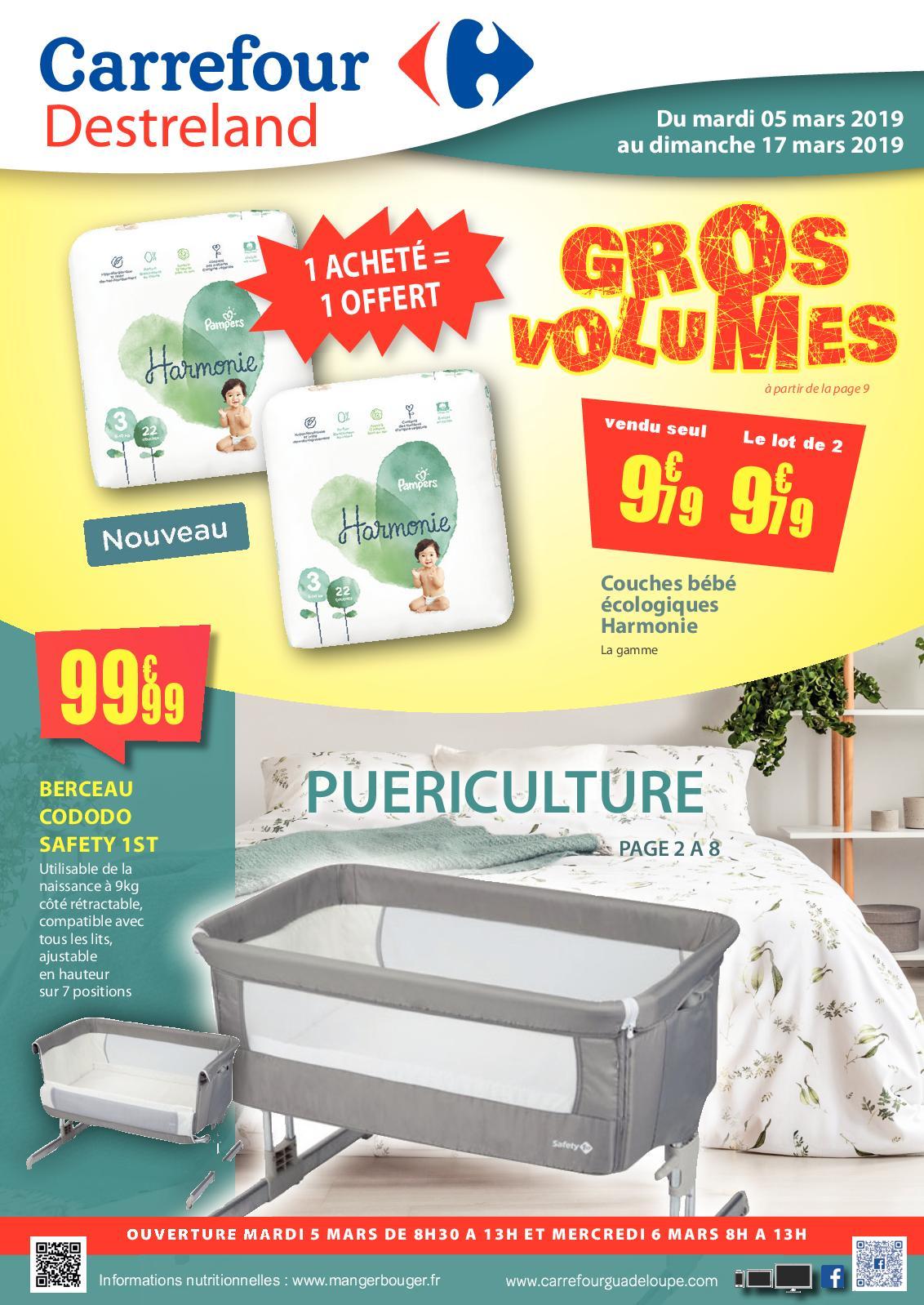 Calaméo Carrefour Destreland Gros Volumes Puericulture