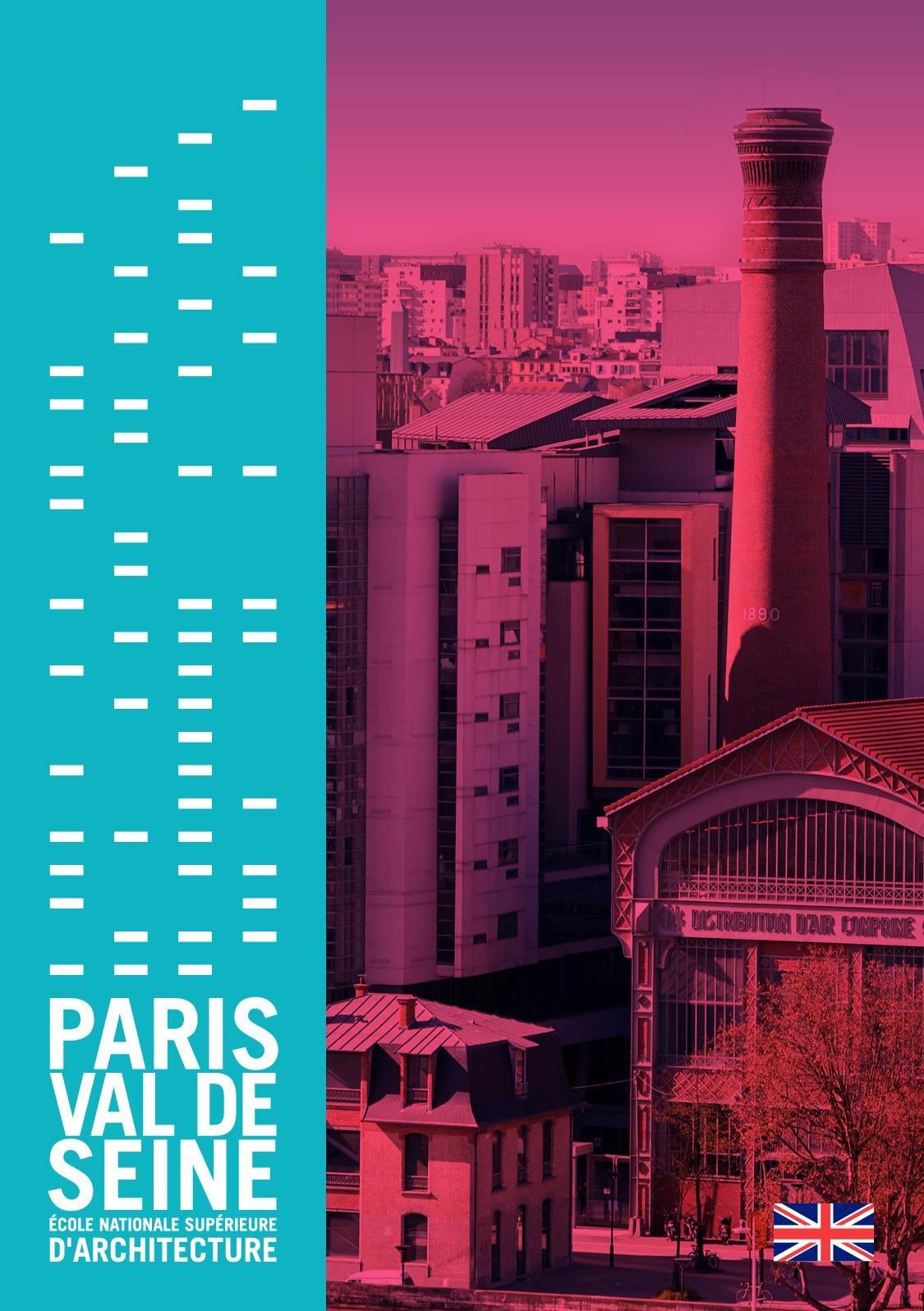 Ensa Paris Val De Seine calaméo - plaquette École english 2019
