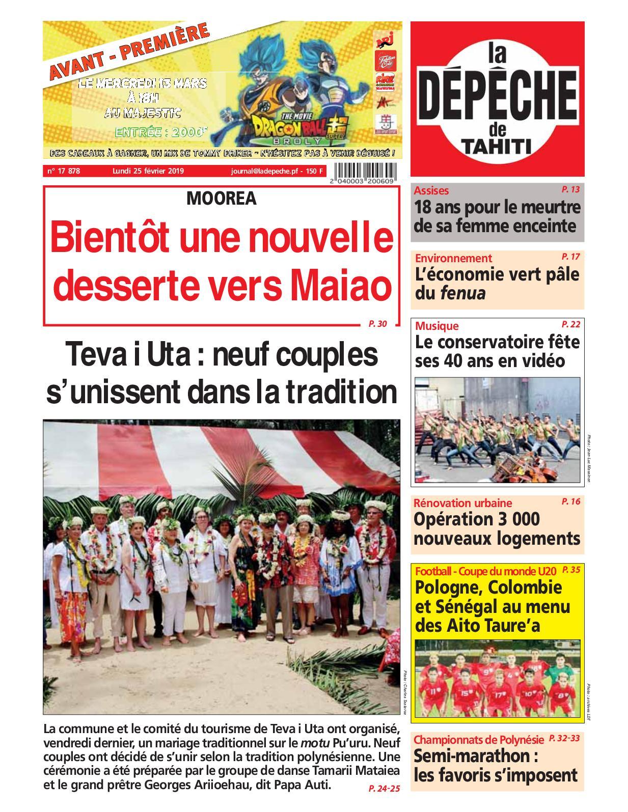 618010a444193d Calaméo - La Dépêche de Tahiti N° 17878 du 25 février 2019