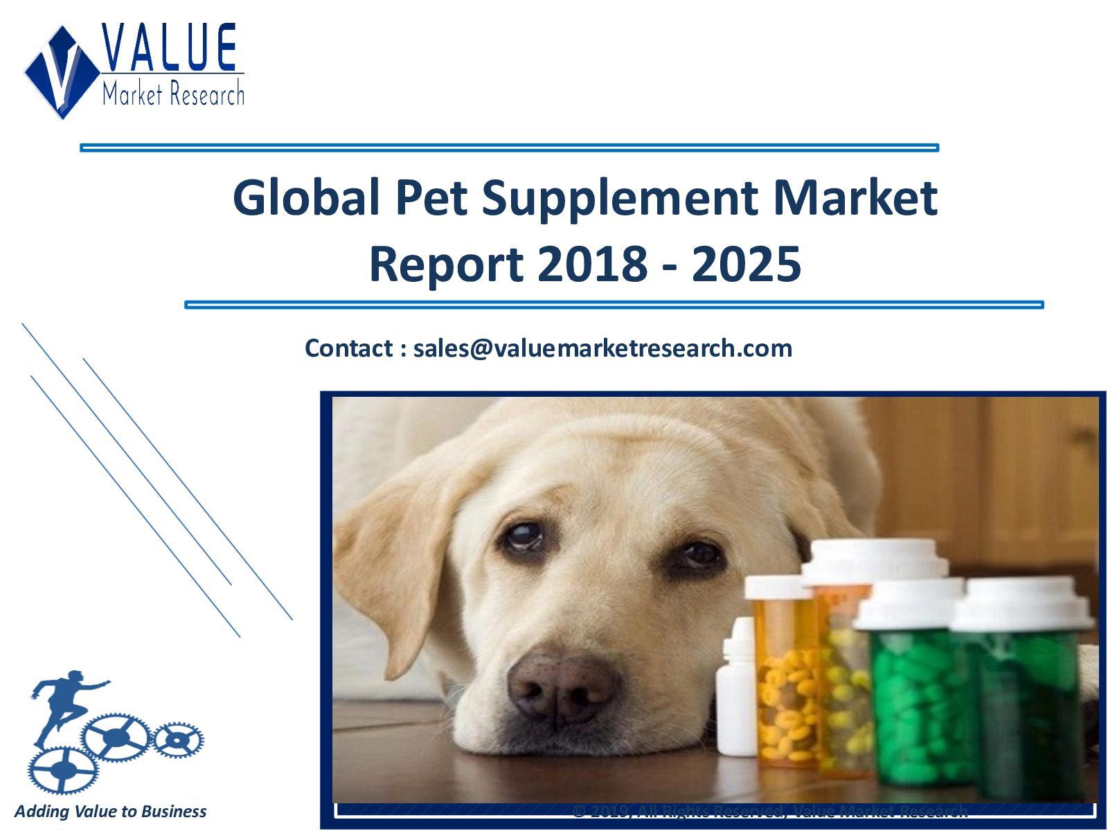 Calaméo - Pet Supplement Market Size, Industry Research Report 2018