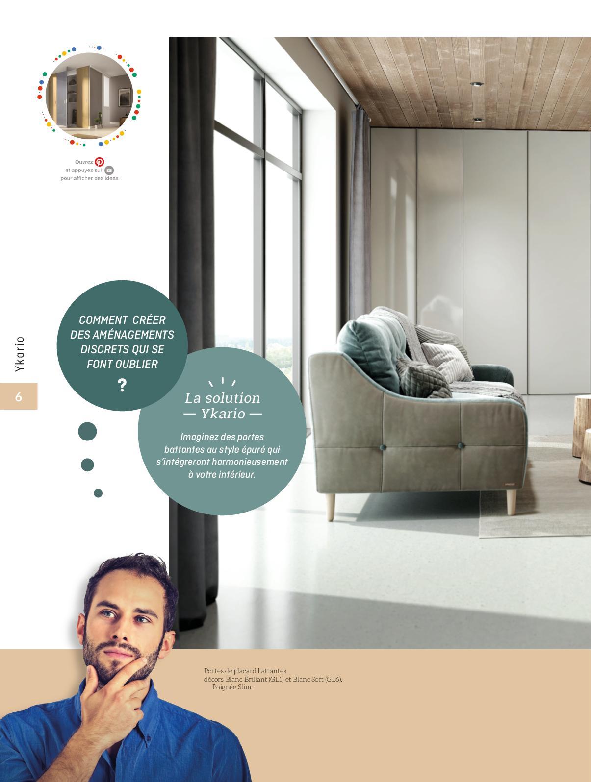 Créer Des Portes De Placard catalogue ykario portes de placard/portes coulissantes 2019