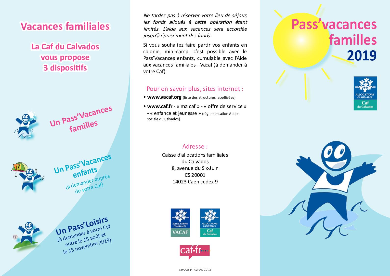Calameo Flyer Pass Famille 2019