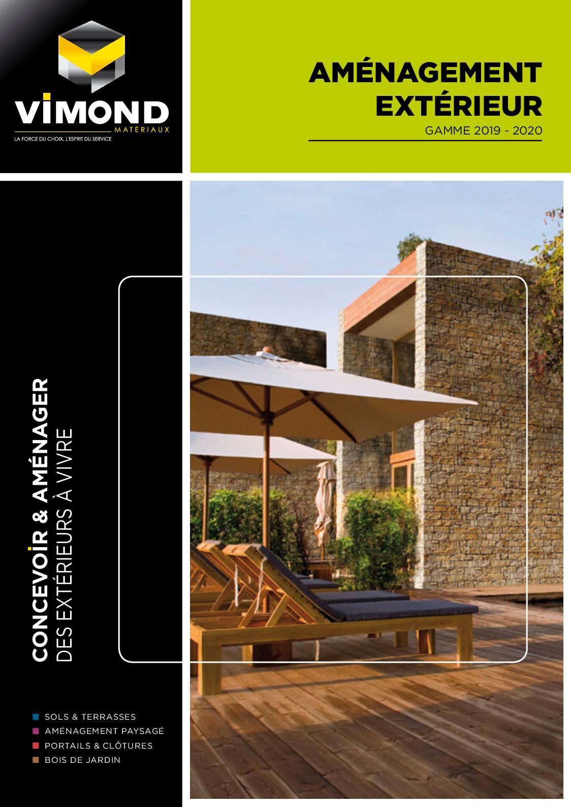 Cloture Bois Hauteur 2M50 calaméo - vimond aménagement extérieur 2019