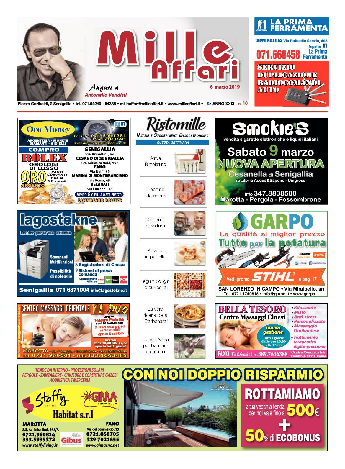 f7efa7a6f9 Calaméo - Milleaffari N° 10 Del 06 03 19