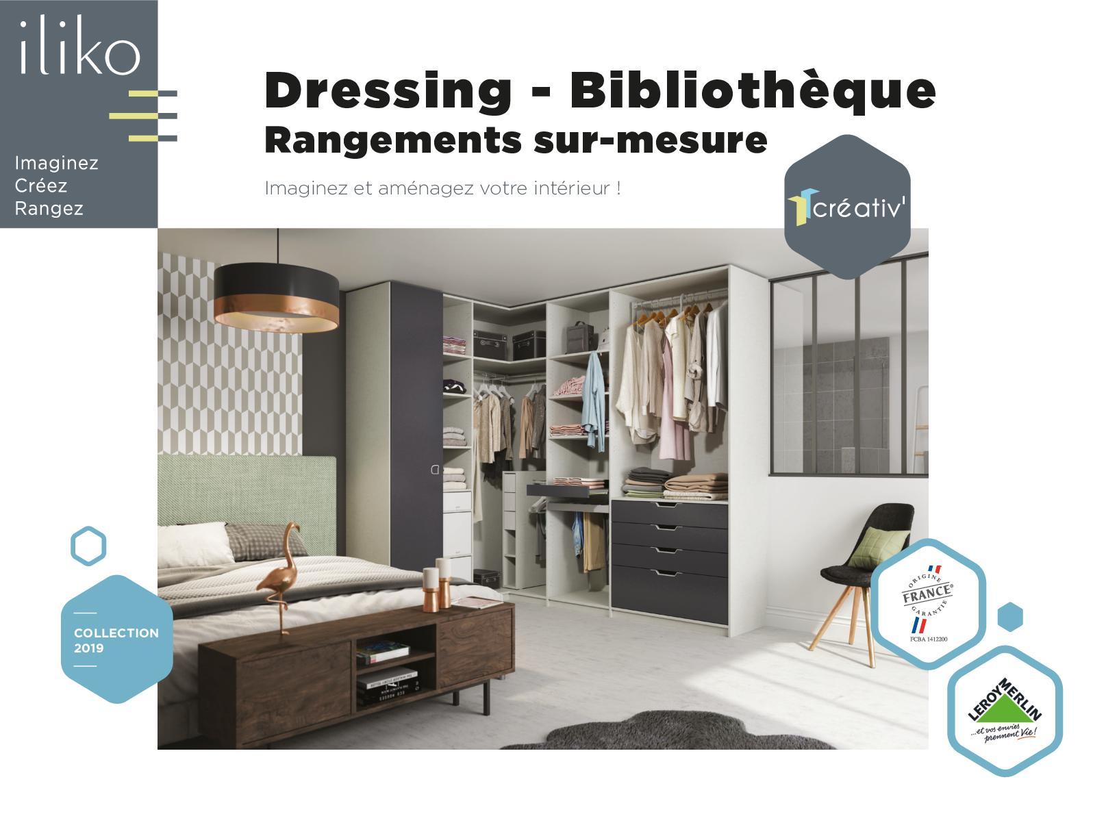 Coût Bibliothèque Sur Mesure calaméo - catalogue iliko lm dressing 2019
