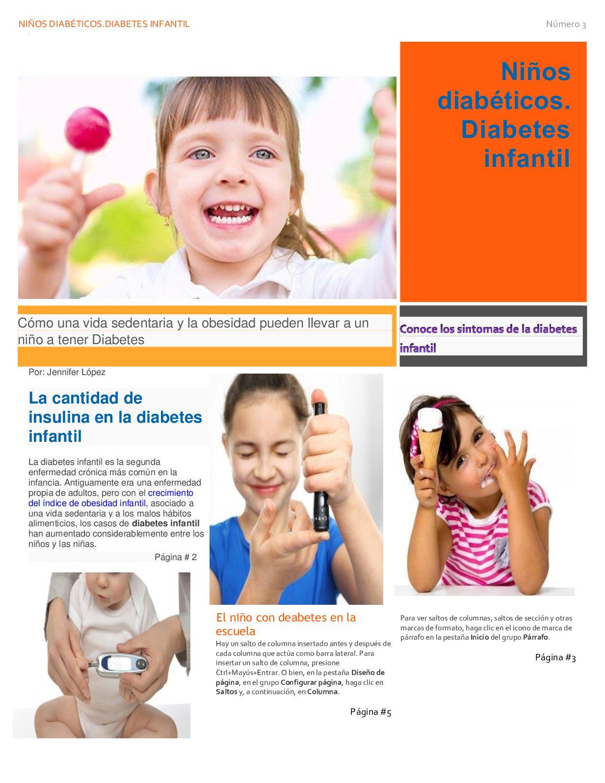síntomas de diabetes infantil vómitos y cuerpo