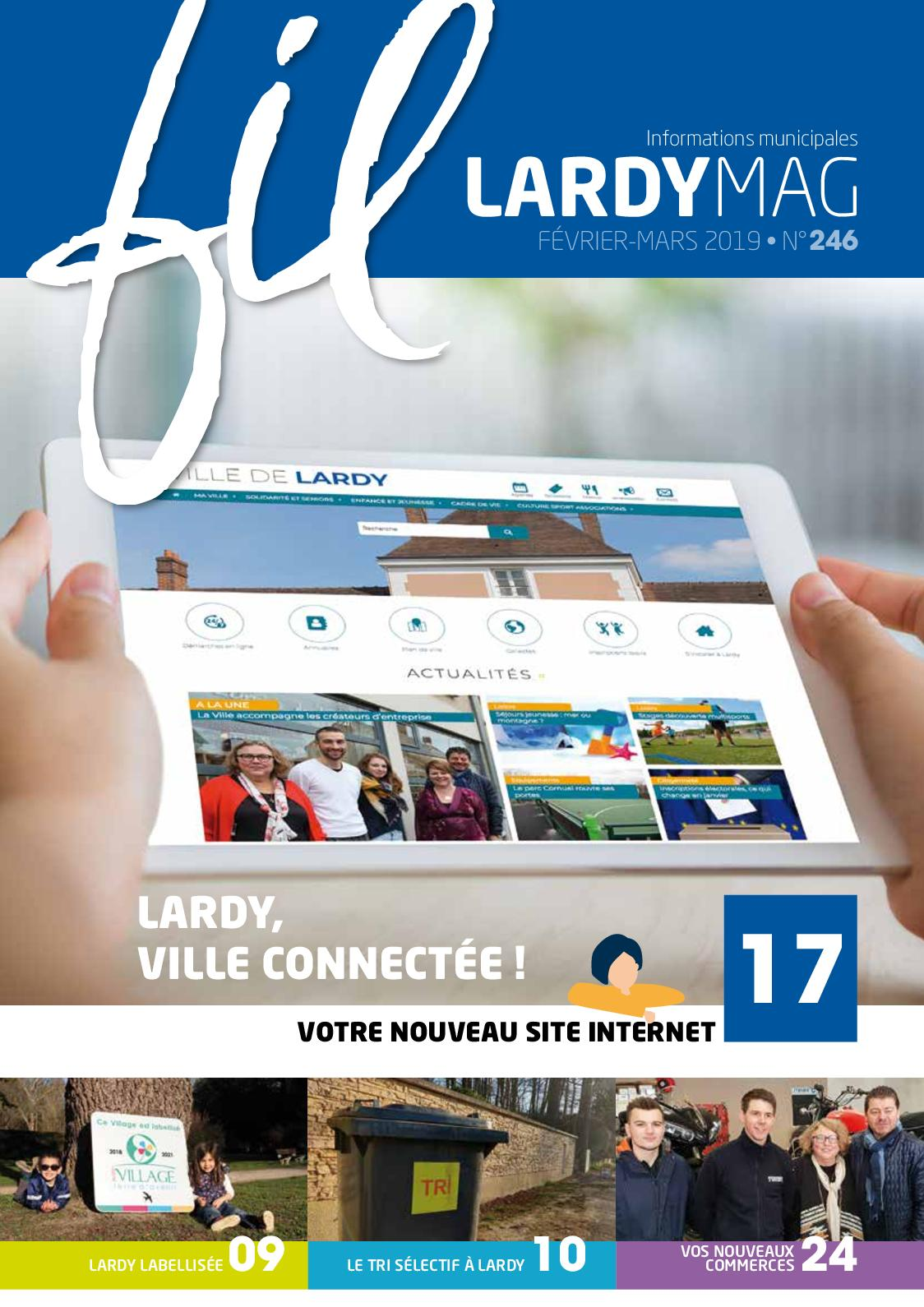 Calaméo Lardy Mag Fil Magazine N246