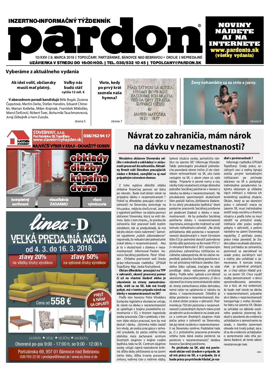 ec854310e17e Calaméo - Pardon Topoľčany 10 2019