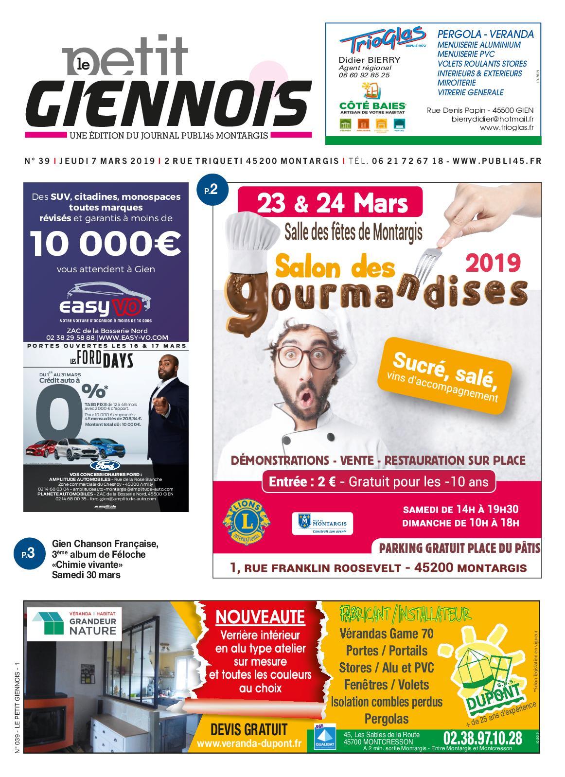 Conforama Montargis Rue Des Frères Lumière Villemandeur calaméo - petit giennois mars 2019