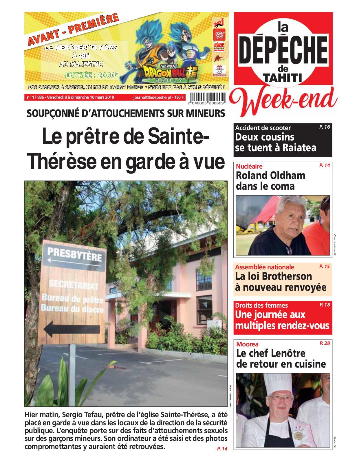 Pro Gouttiere Sainte Cecile calaméo - la dépêche de tahiti n° 17886 du 08 au 10 mars 2019