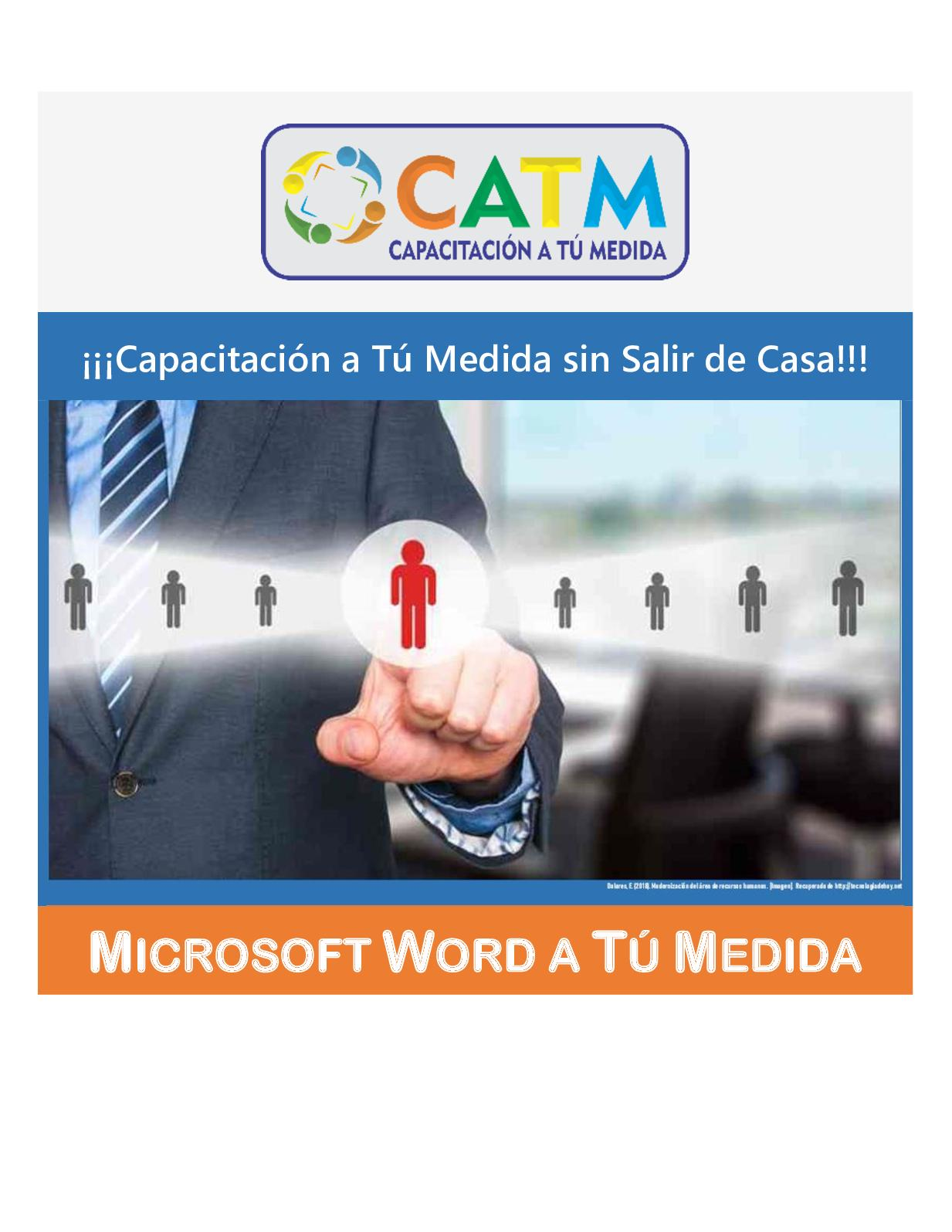 Microsoft Word a Tú Medida