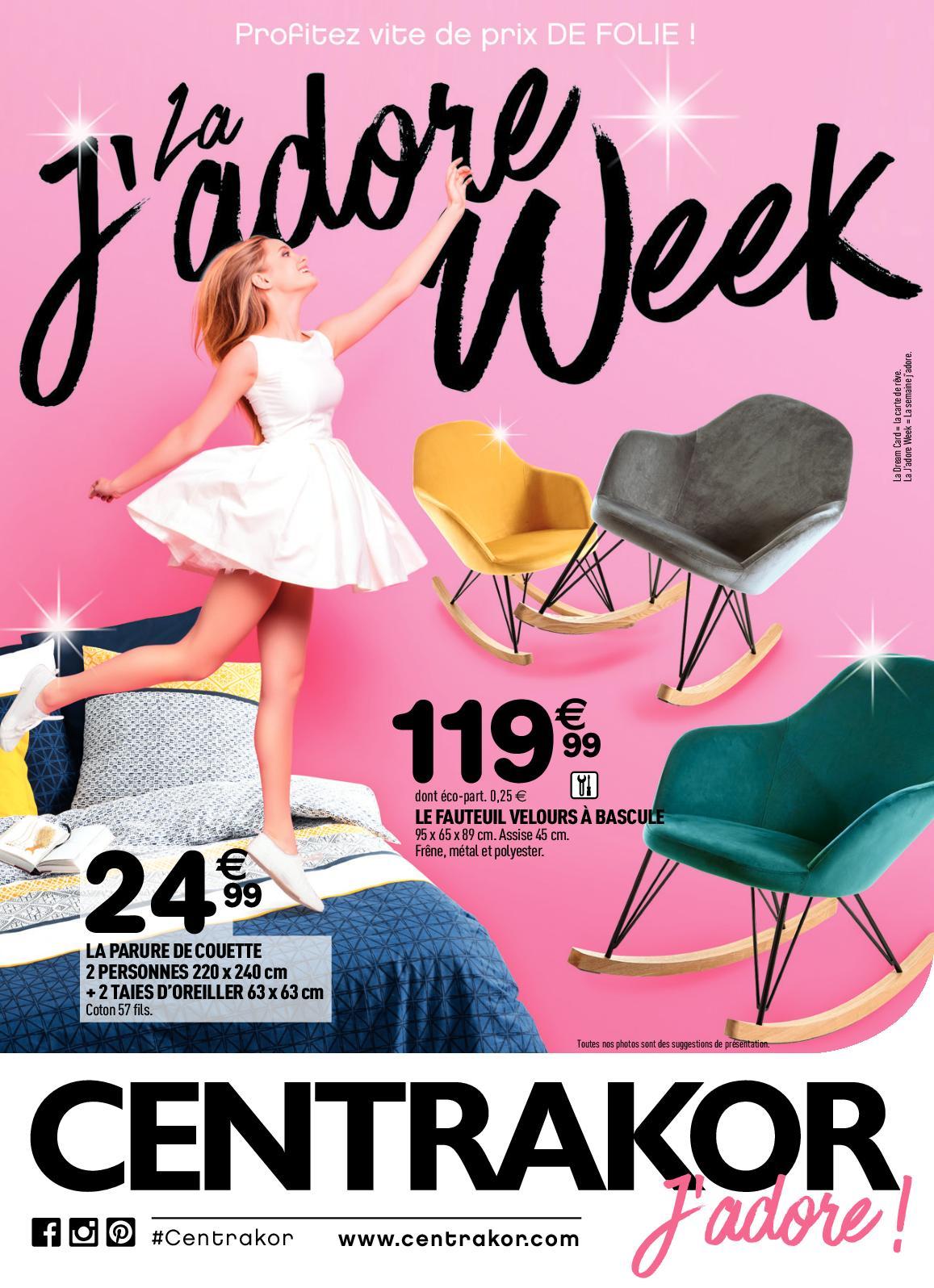 Calaméo Catalogue 621 Centrakor La Jadore Week