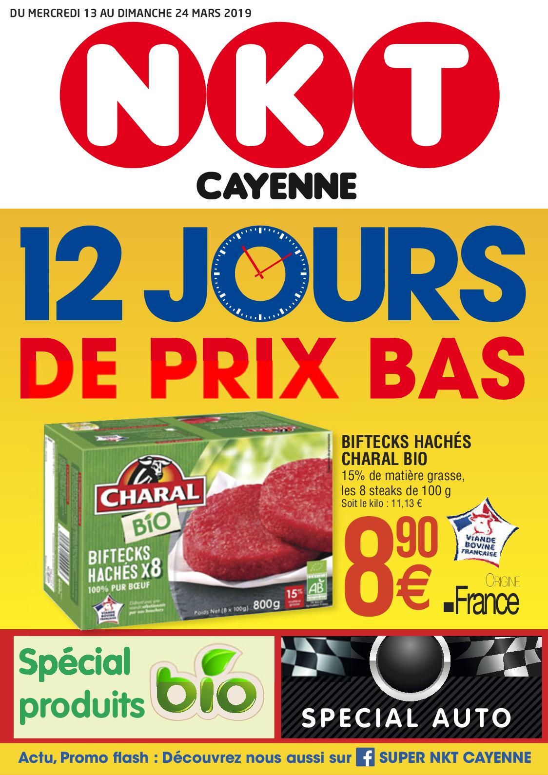 """NKT - Catalogue """"12 Jours Prix Bas"""" du 13/03 au 24/03"""