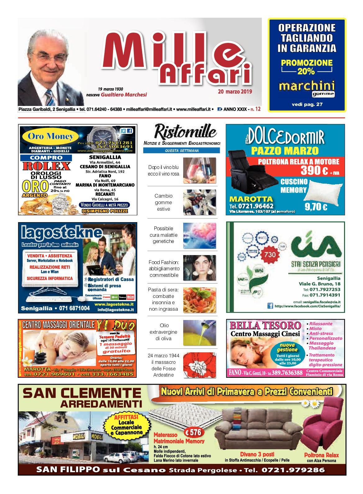 cf415be159e02d Calaméo - Milleaffari N° 12 Del 20 03 19