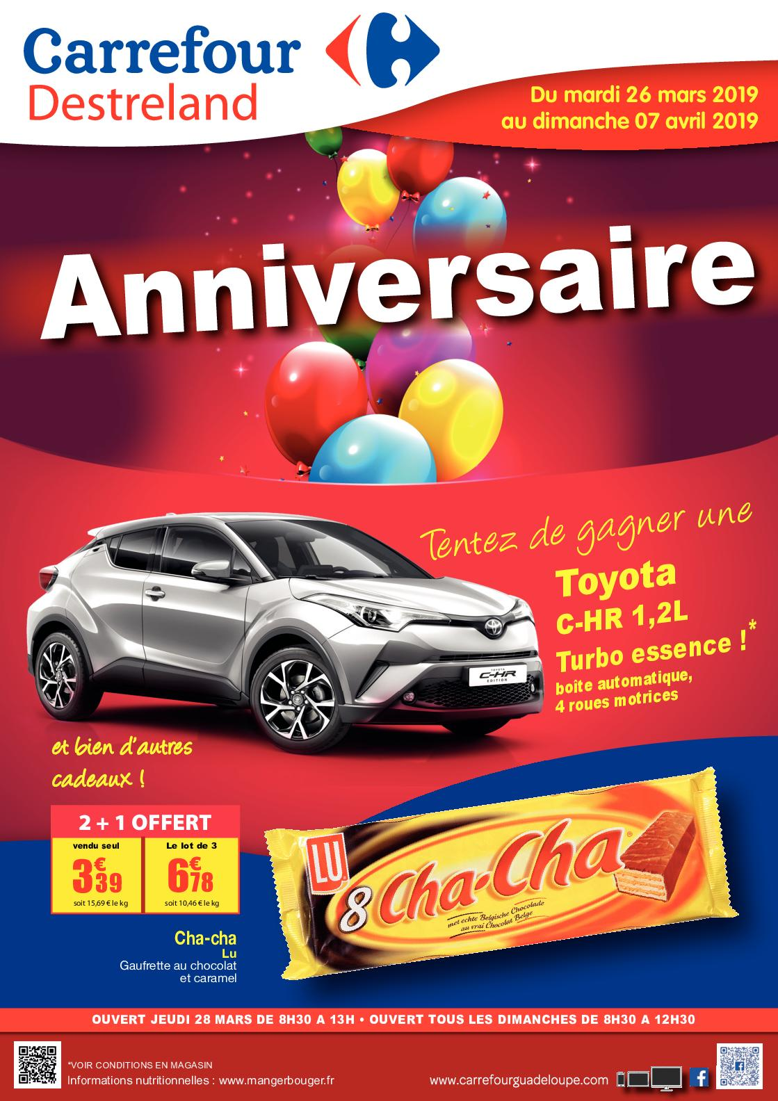 Calaméo 20190326 Carrefour Destreland Catalogue Anniversaire