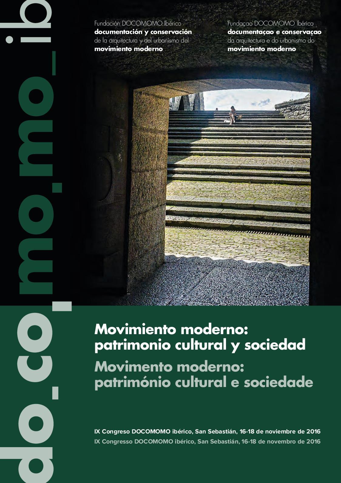 Calaméo Actas Del Ix Congreso Docomomo Ibérico Actas Do