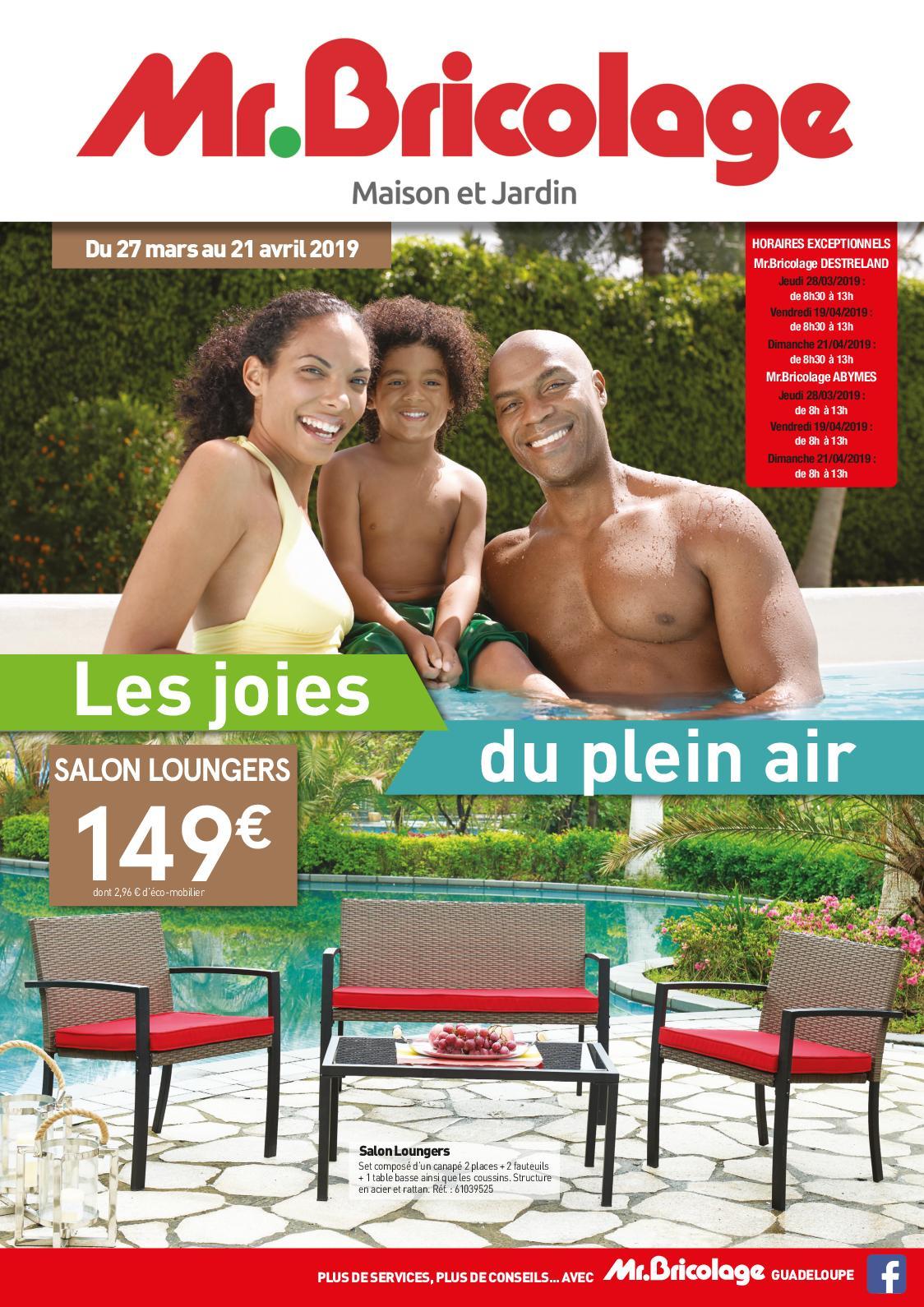 Calaméo - Mr Bricolage Guadeloupe - Catalogue Plein Air 2019